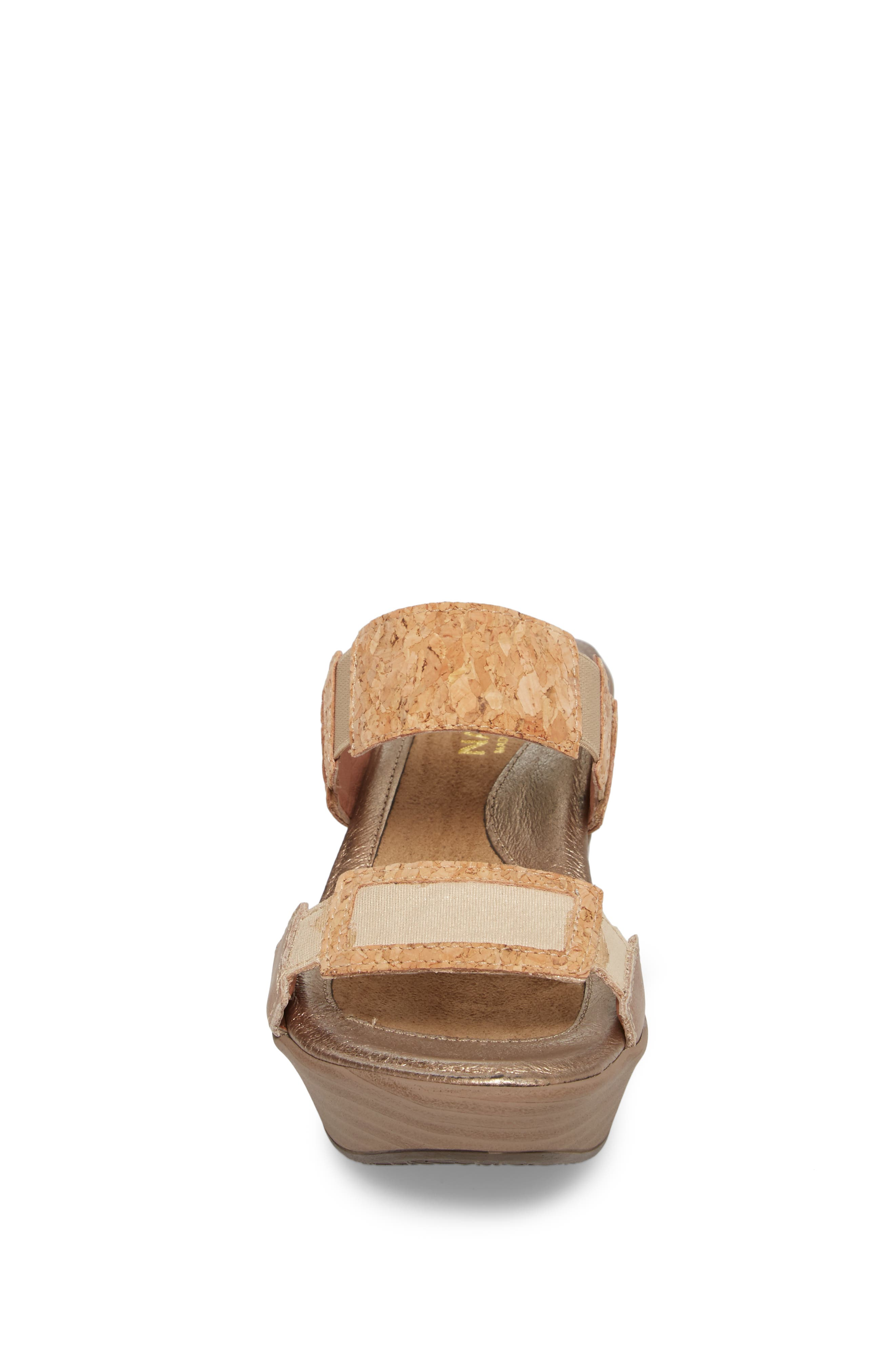 'Treasure' Sandal,                             Alternate thumbnail 4, color,                             Cork Leather