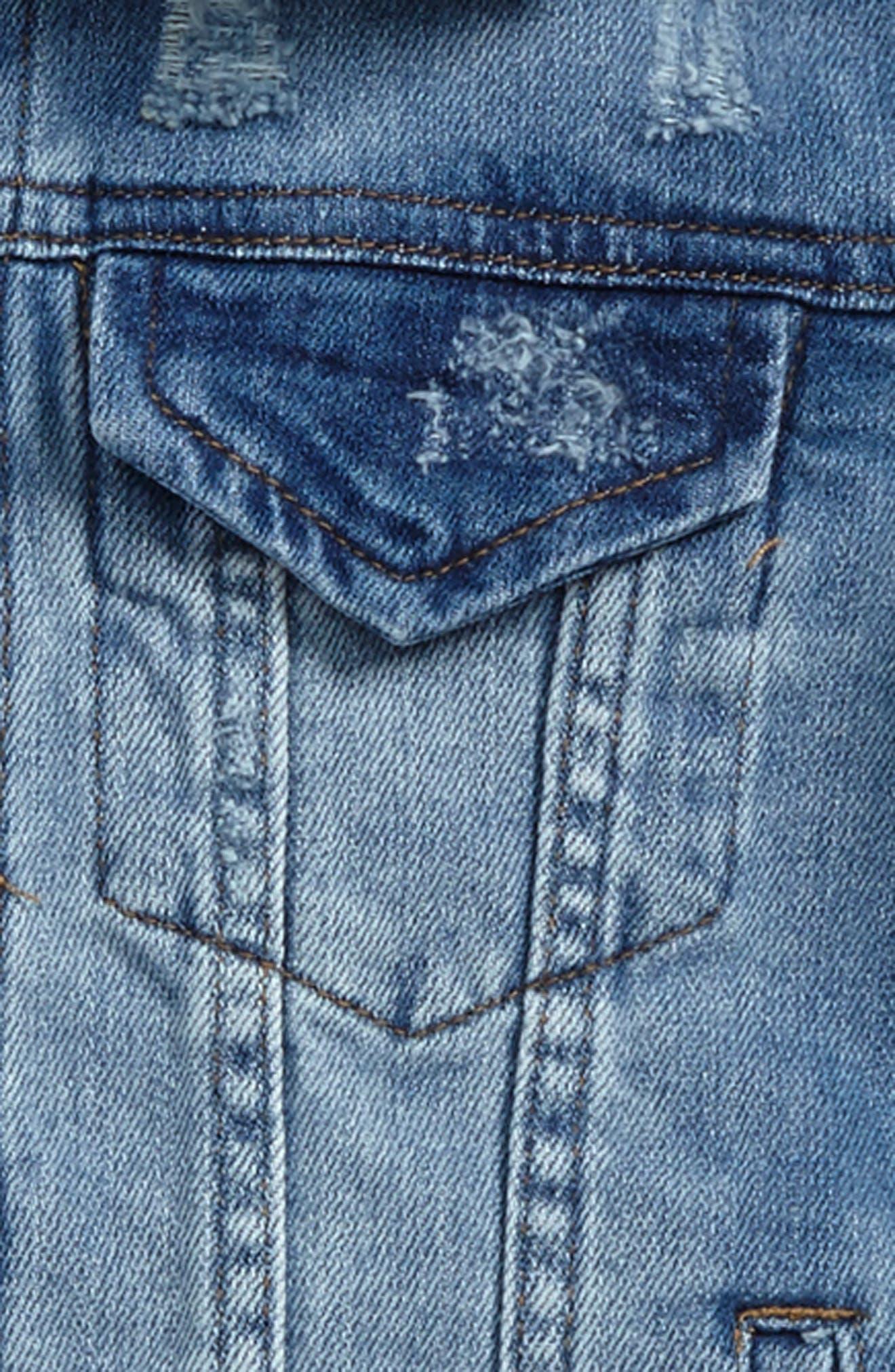 Decon Denim Jacket,                             Alternate thumbnail 2, color,                             Indigo