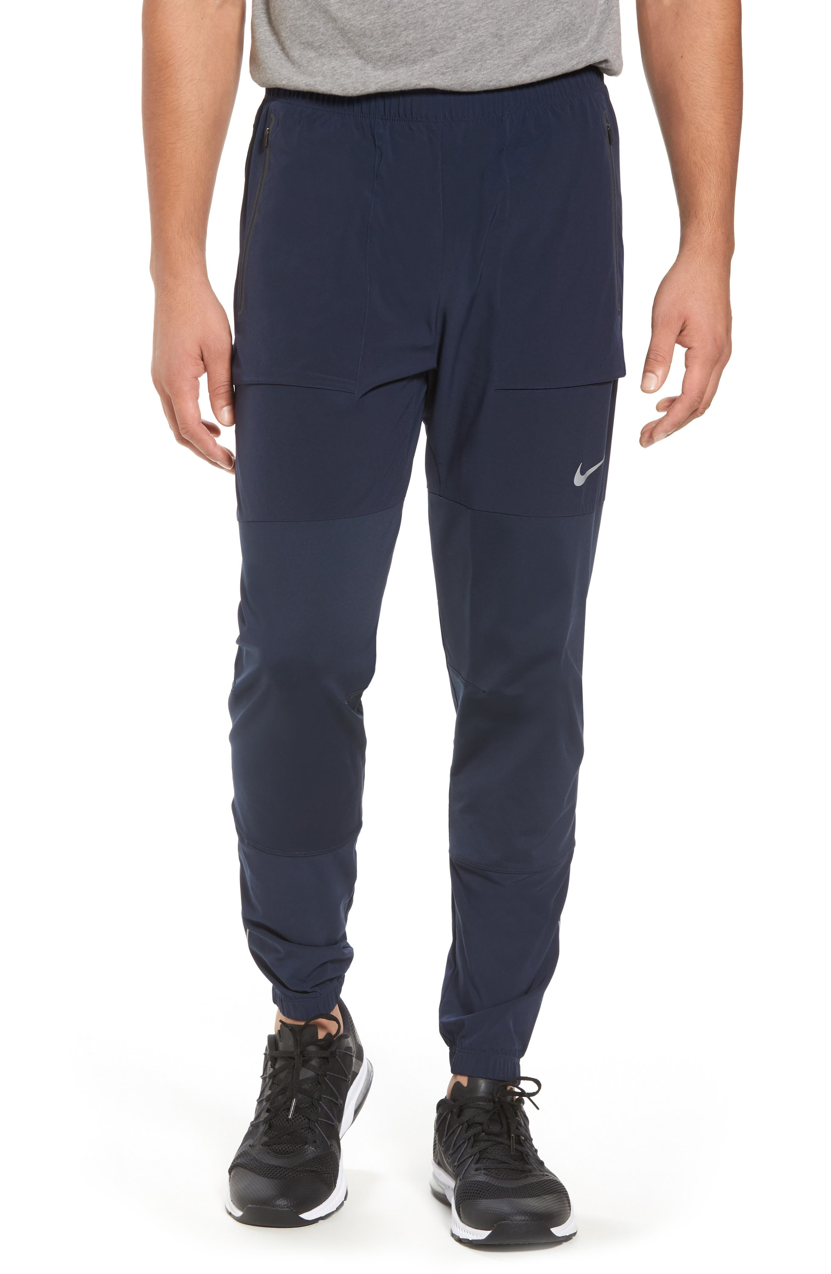 Running Pants,                             Main thumbnail 1, color,                             Obsidian