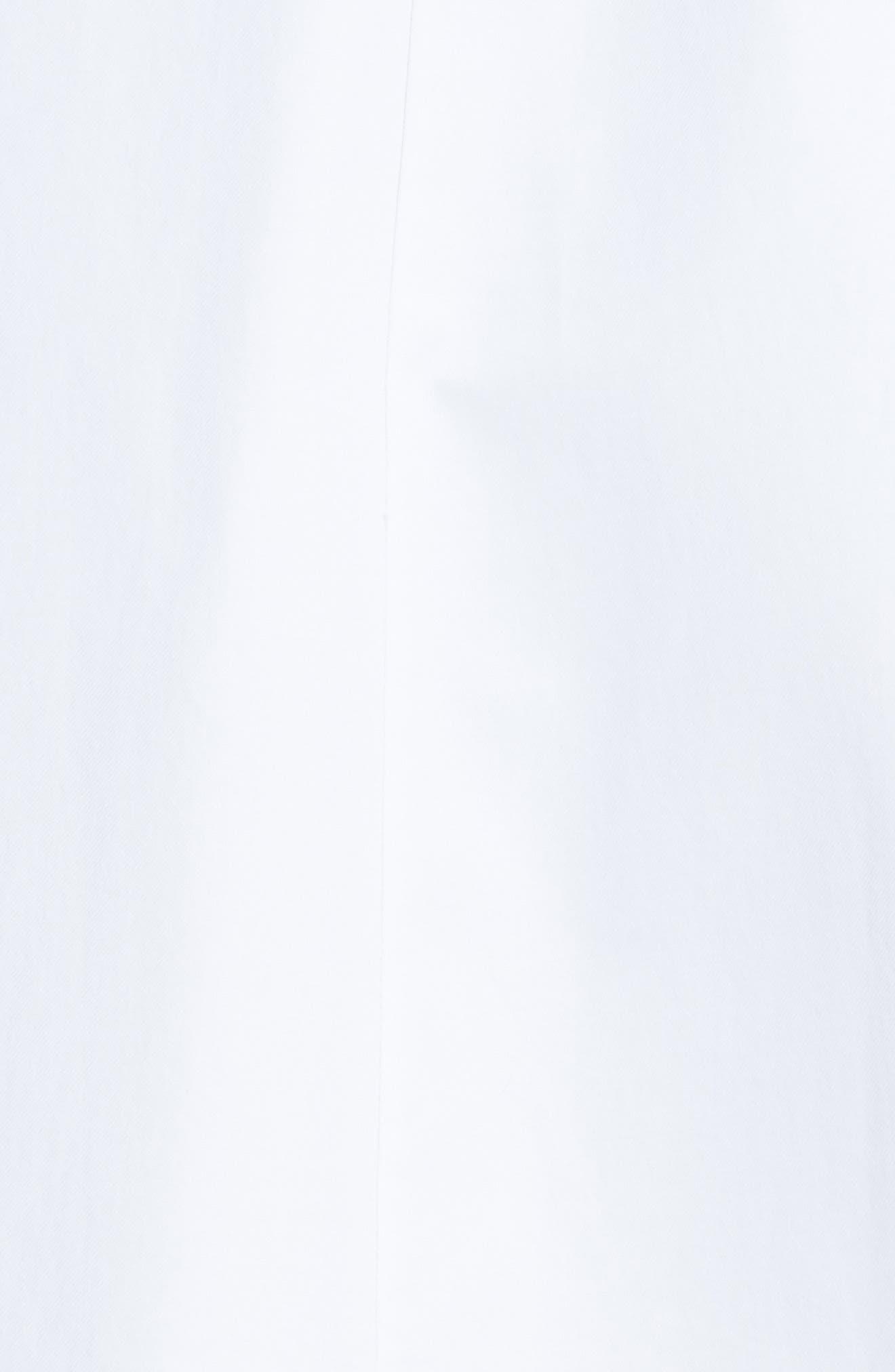 Cindy Poplin Tank Dress,                             Alternate thumbnail 6, color,                             White