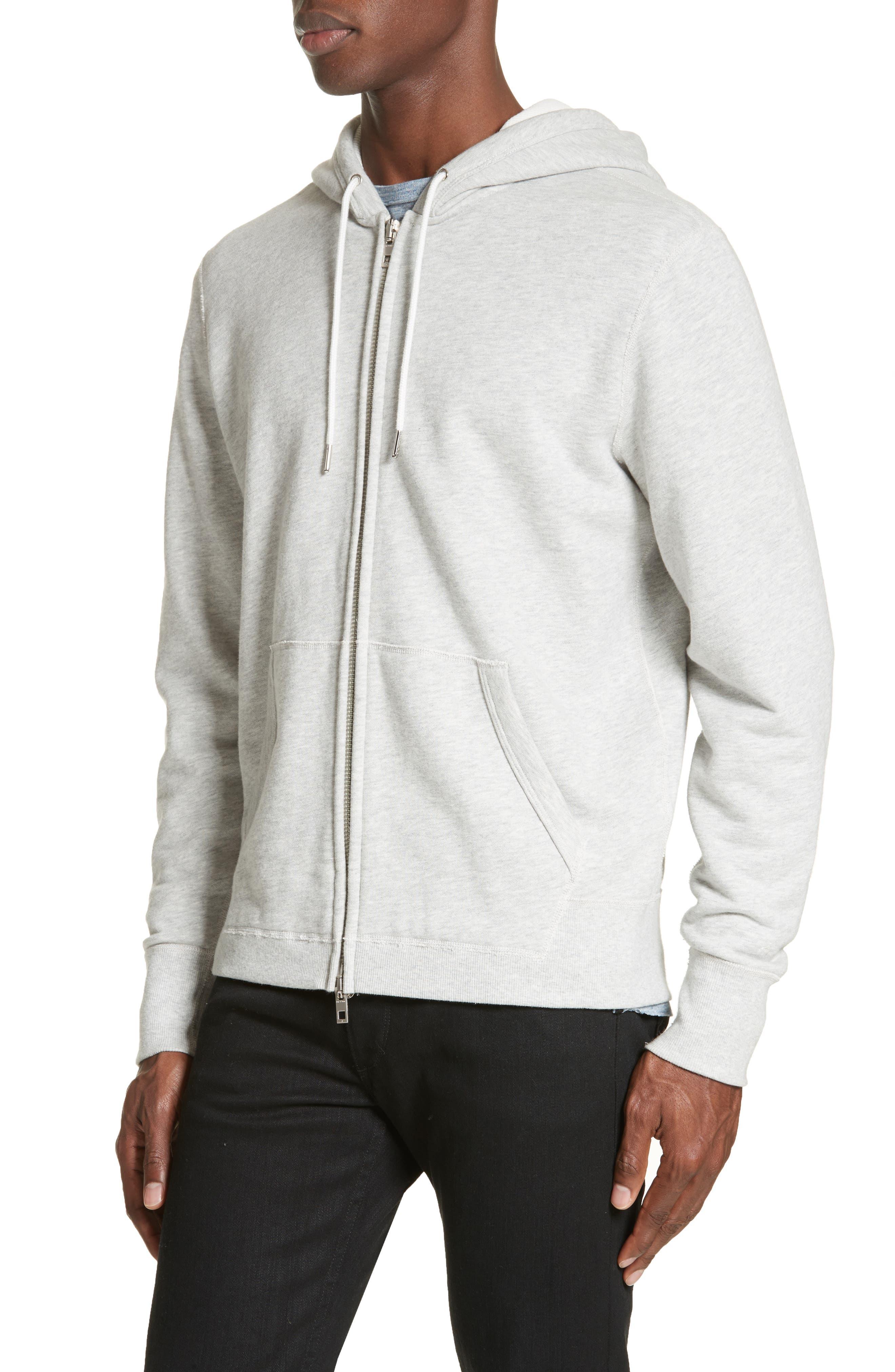 Alternate Image 4  - rag & bone Standard Issue Zip Hoodie