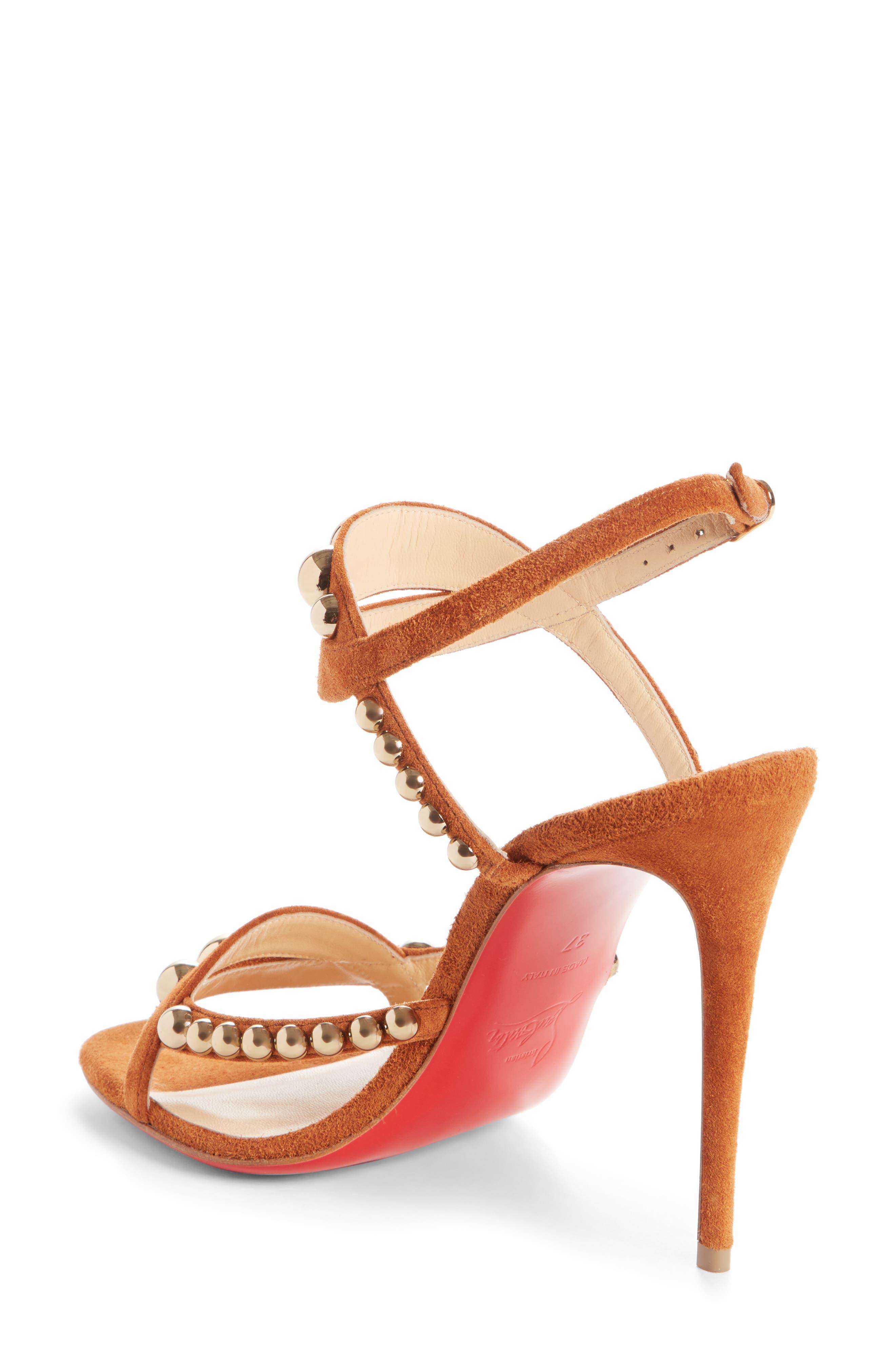 Galeria Ornament Sandal,                             Alternate thumbnail 2, color,                             Cannelle/ Bronze