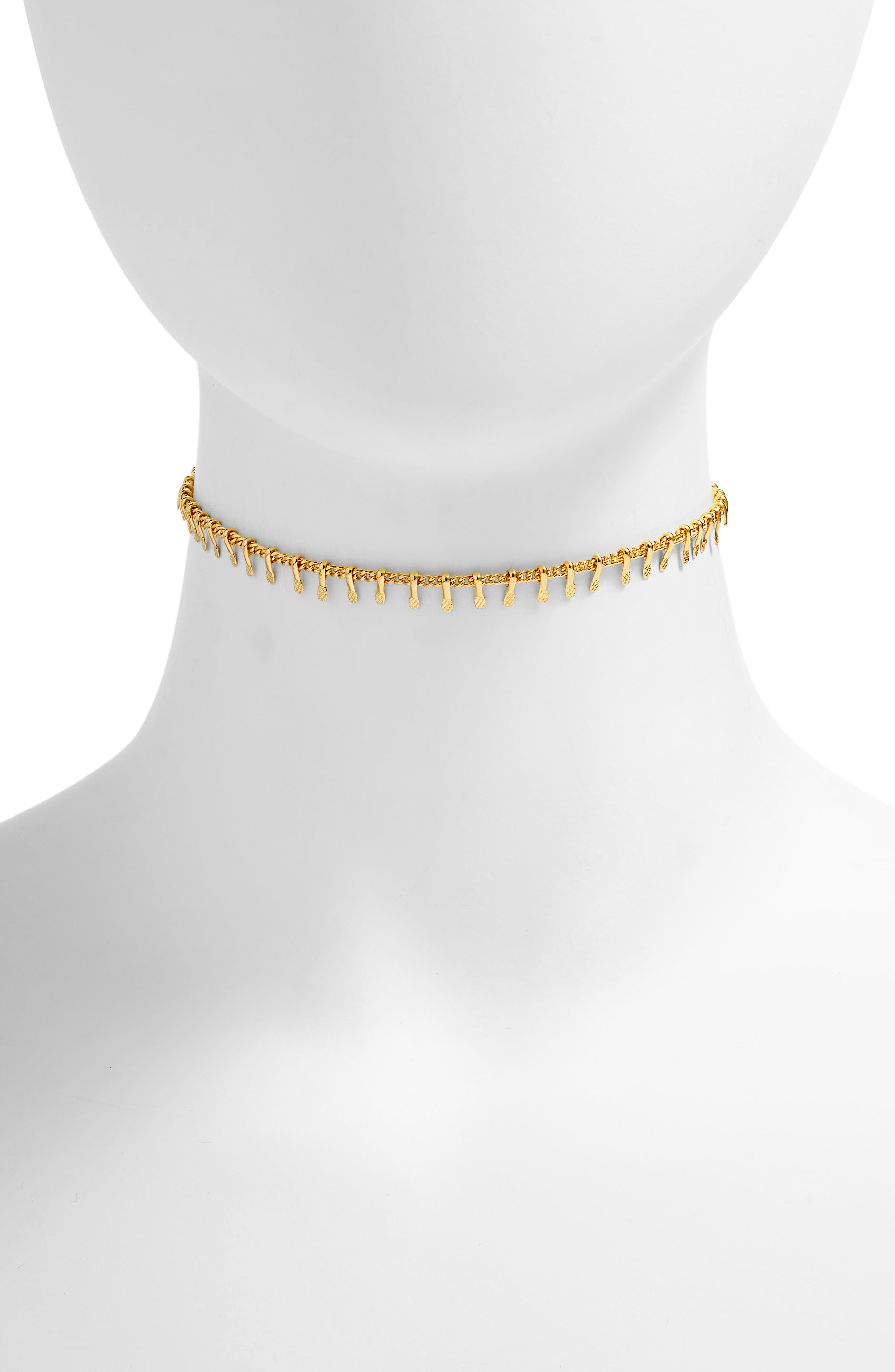 five and two Natalie Choker Necklace