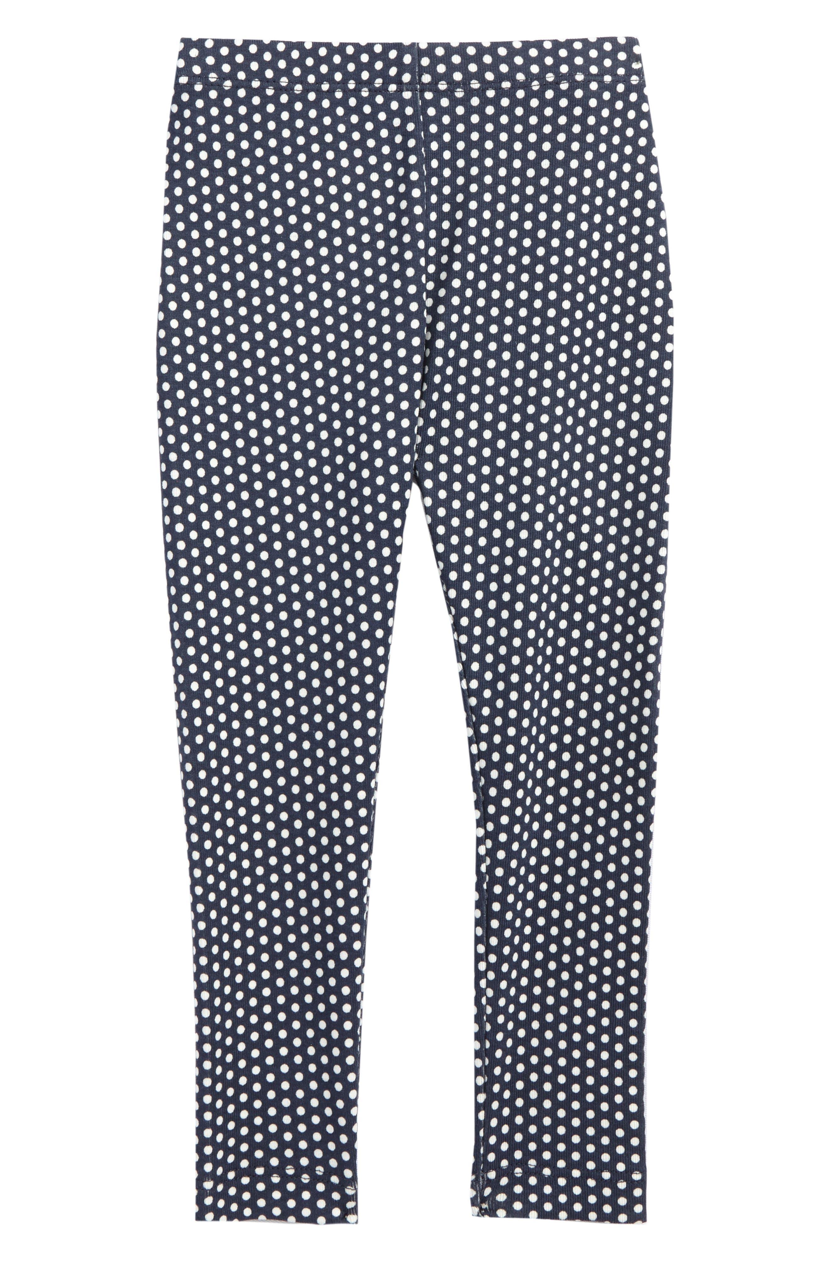 Main Image - Tea Collection Polka Dot Leggings (Baby Girls)