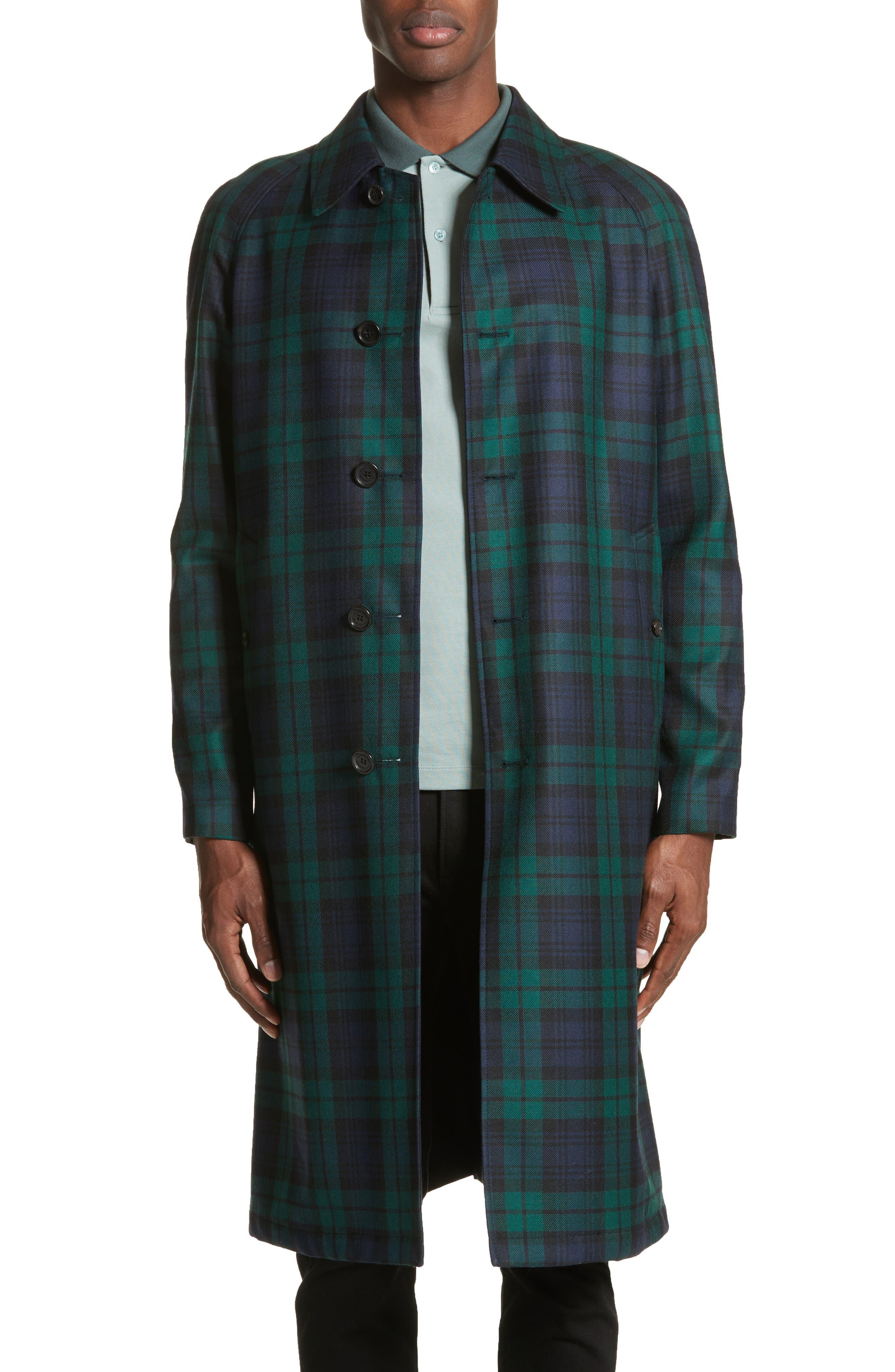 Burberry Hollins Reversible Topcoat