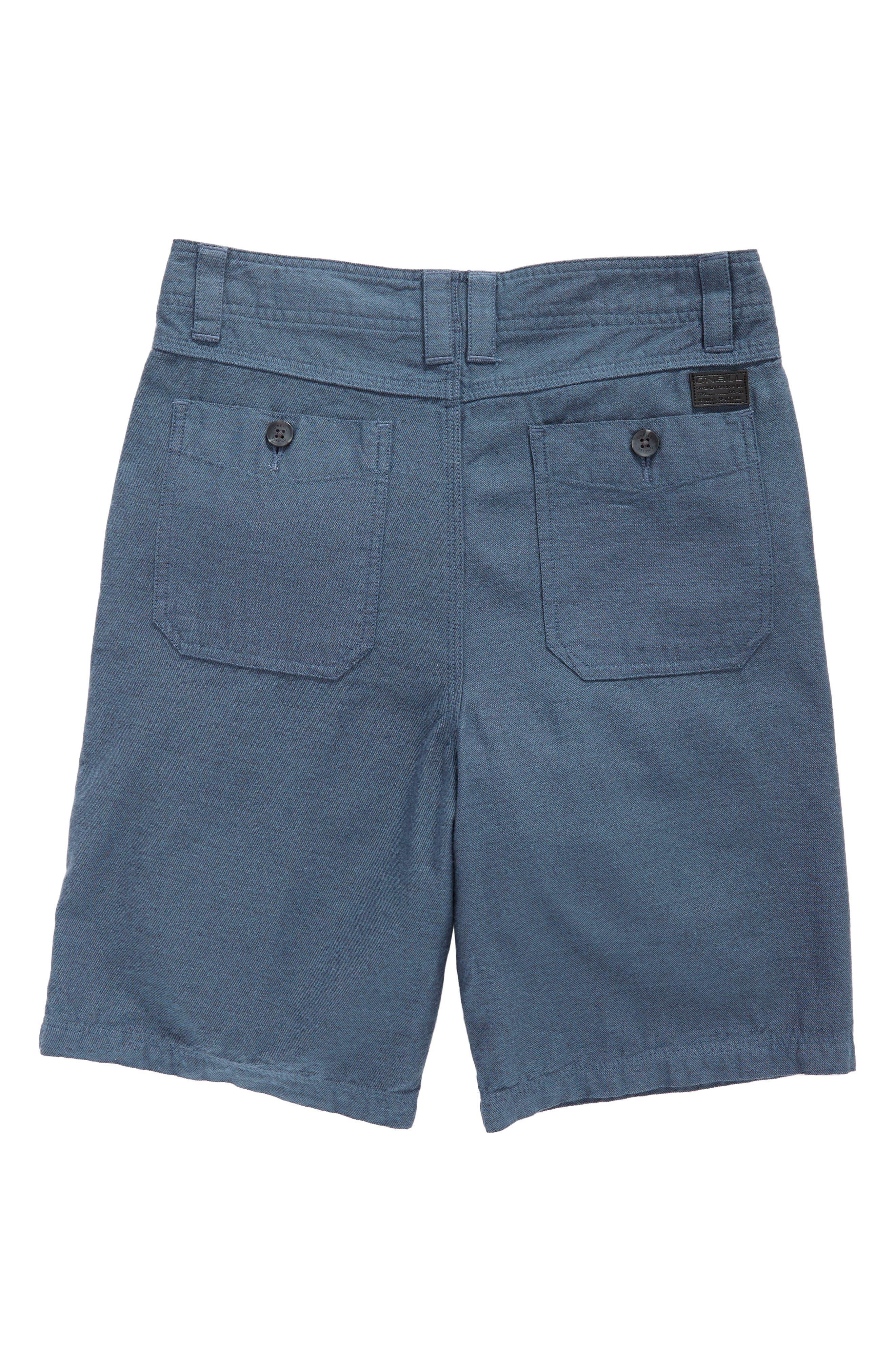 Alternate Image 2  - O'Neill Scranton Chino Shorts (Big Boys)