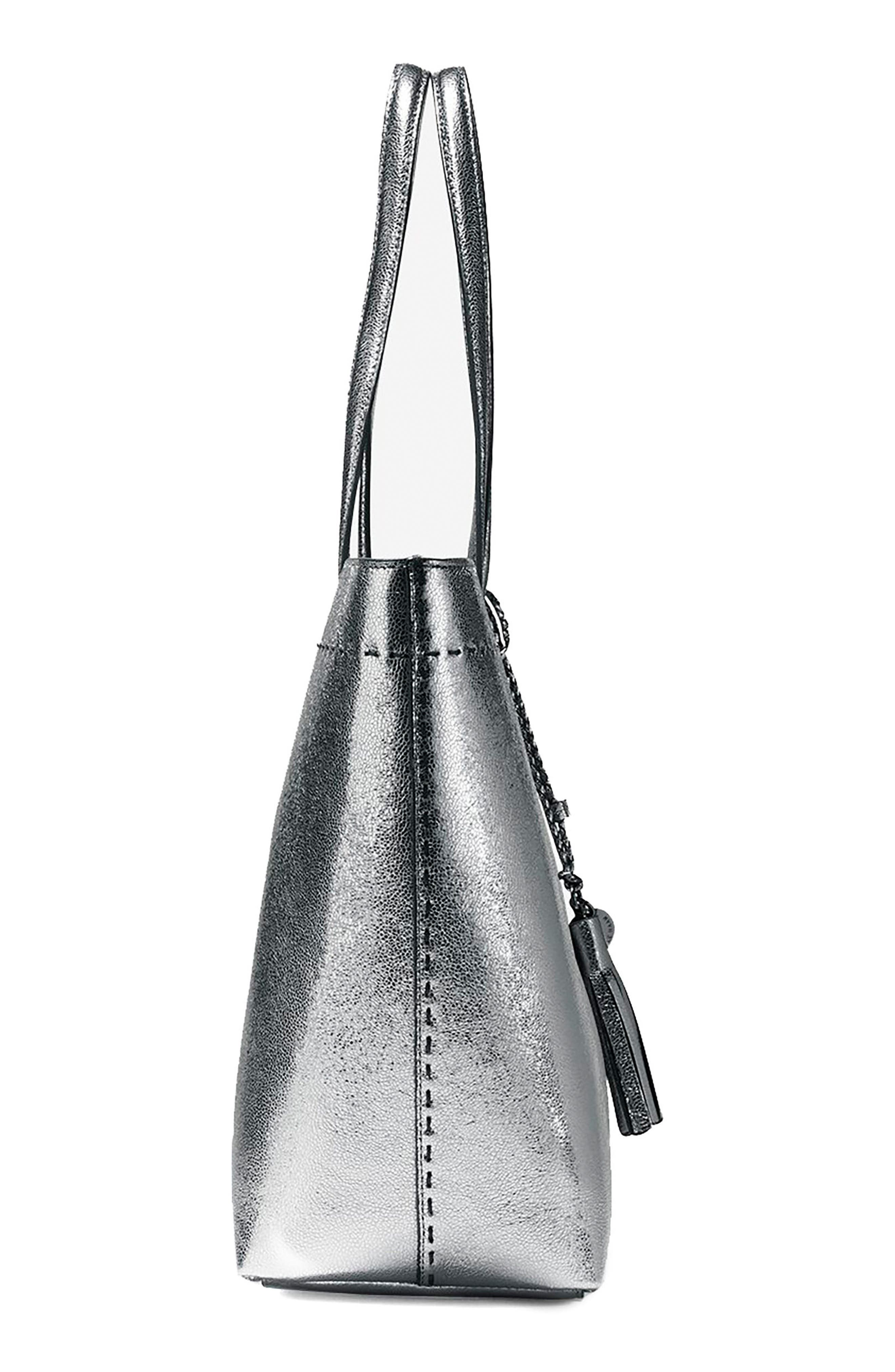 Alternate Image 4  - Cole Haan Payson Metallic Leather Tote