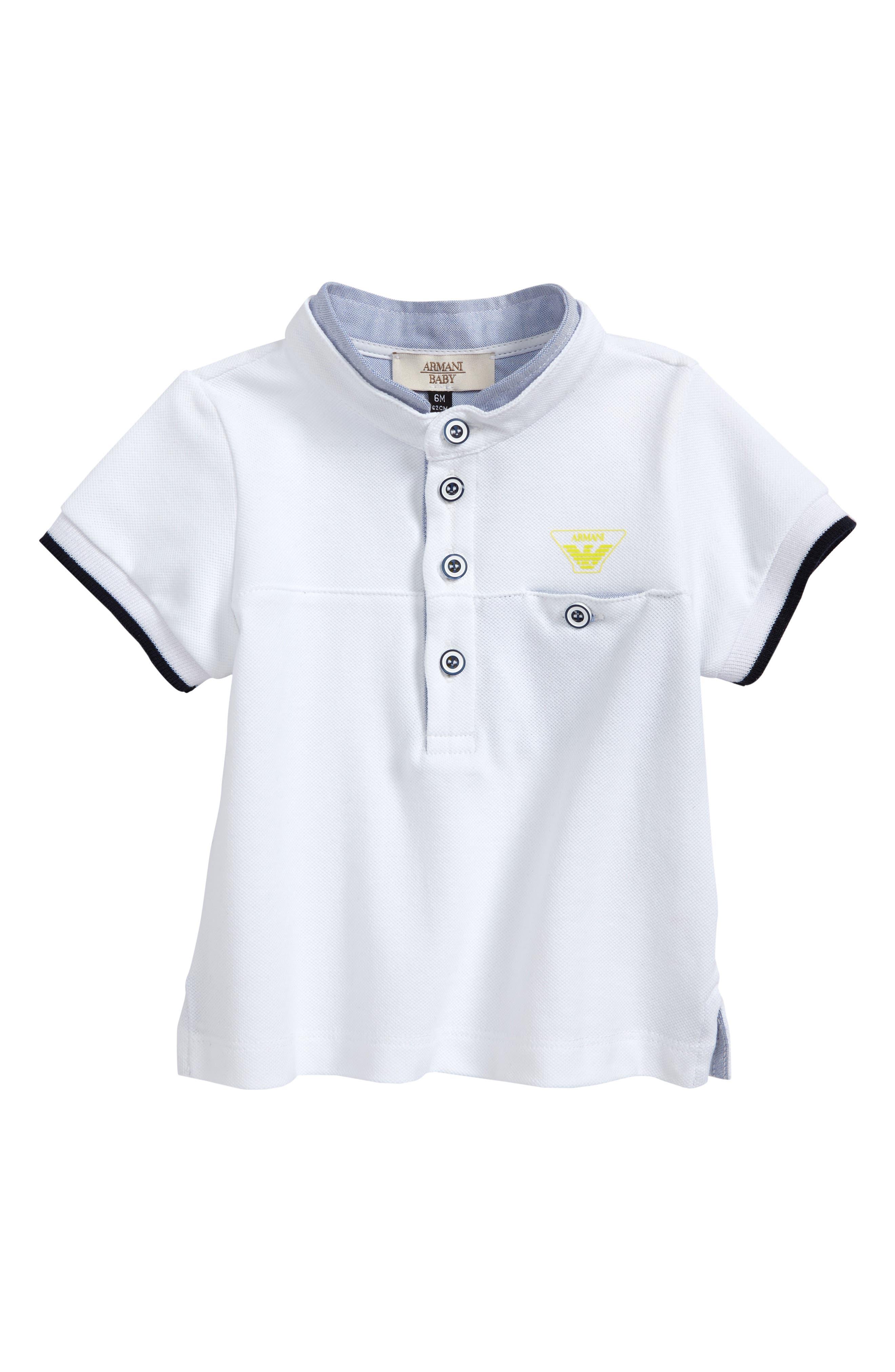 Main Image - Armani Junior Polo (Baby Boys)