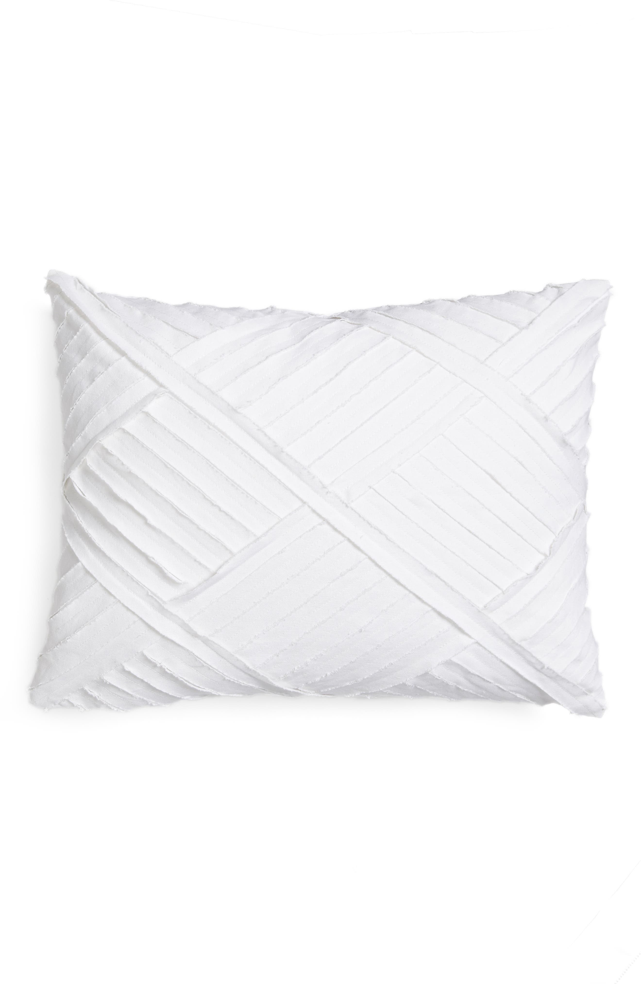 Alexandria Accent Pillow,                         Main,                         color, White