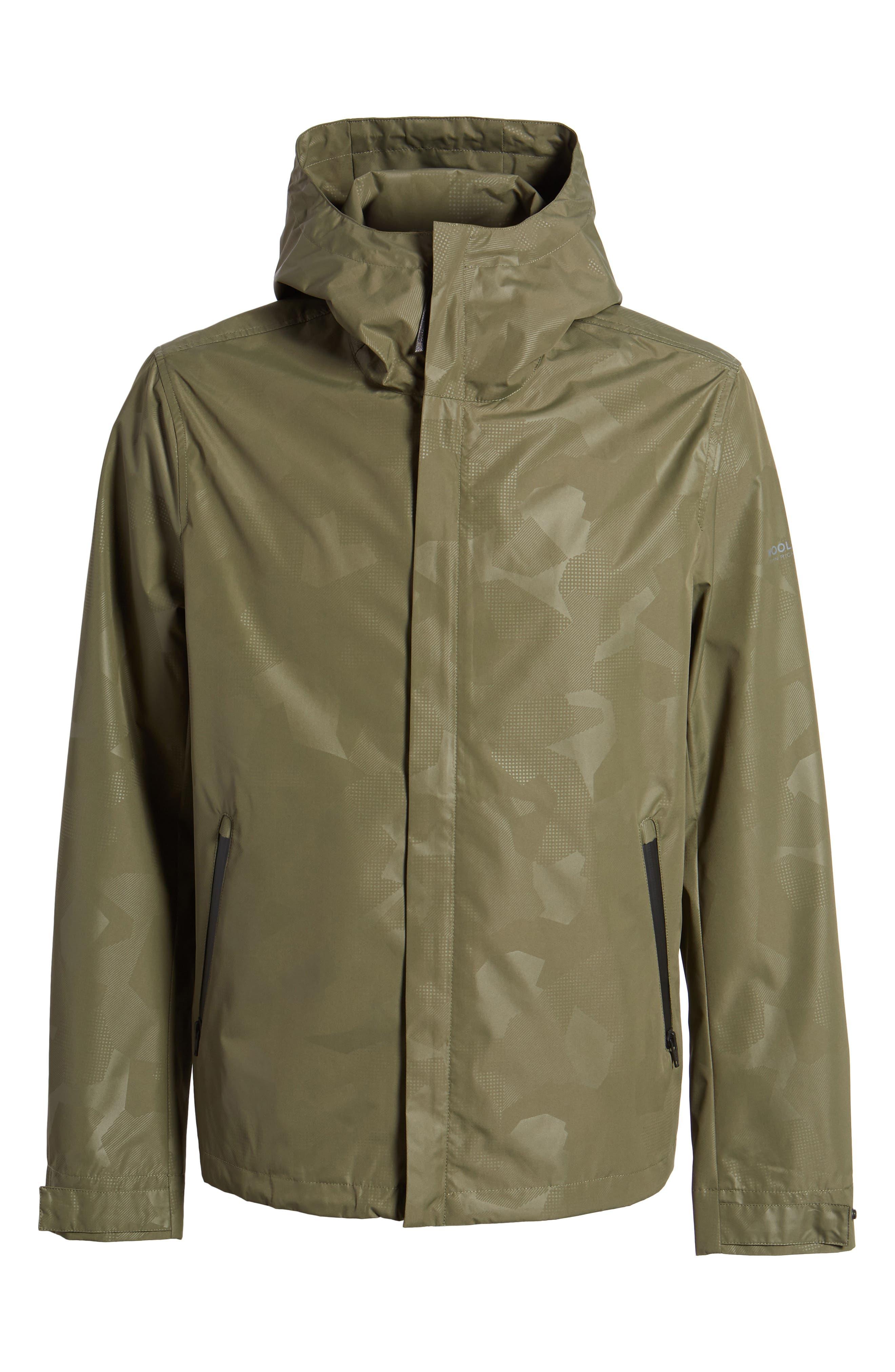 John Rich & Bros. Atlantic Camo Hooded Jacket,                             Alternate thumbnail 6, color,                             Grape Leaf Camo
