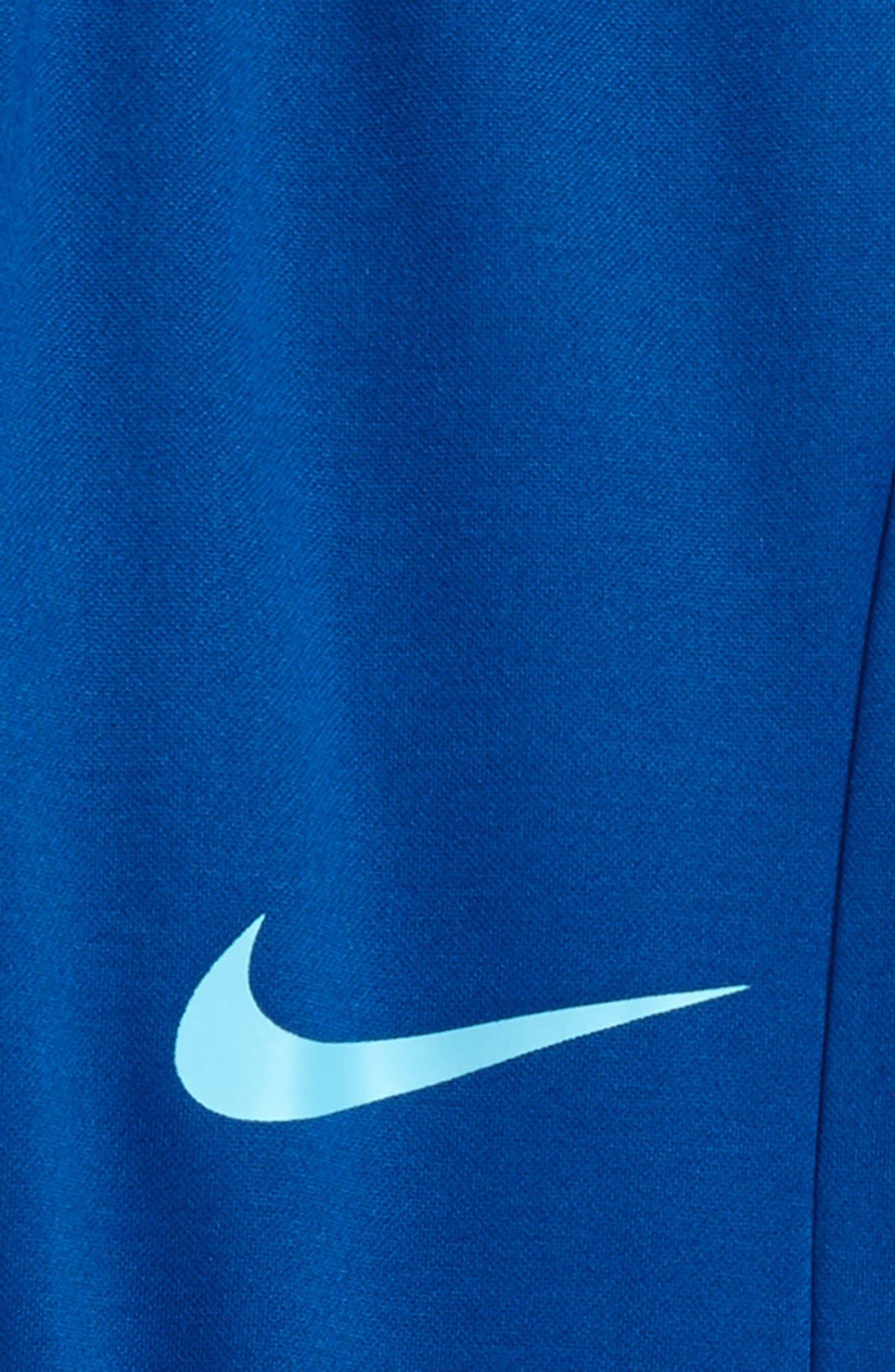 Therma-FIT GFX Fleece Jogger Pants,                             Alternate thumbnail 2, color,                             Gym Blue