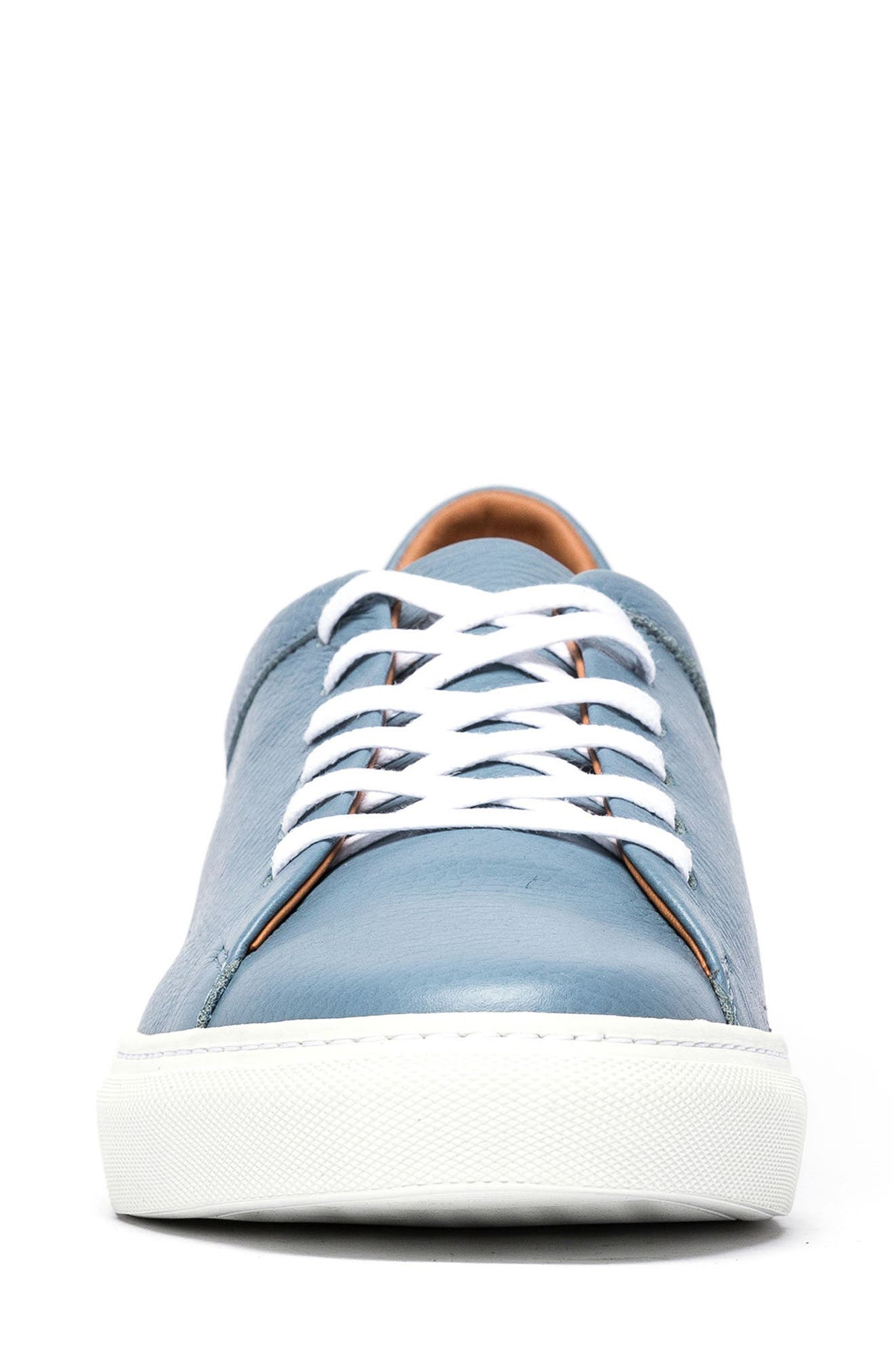 Windemere Sneaker,                             Alternate thumbnail 4, color,                             Sky Blue Leather