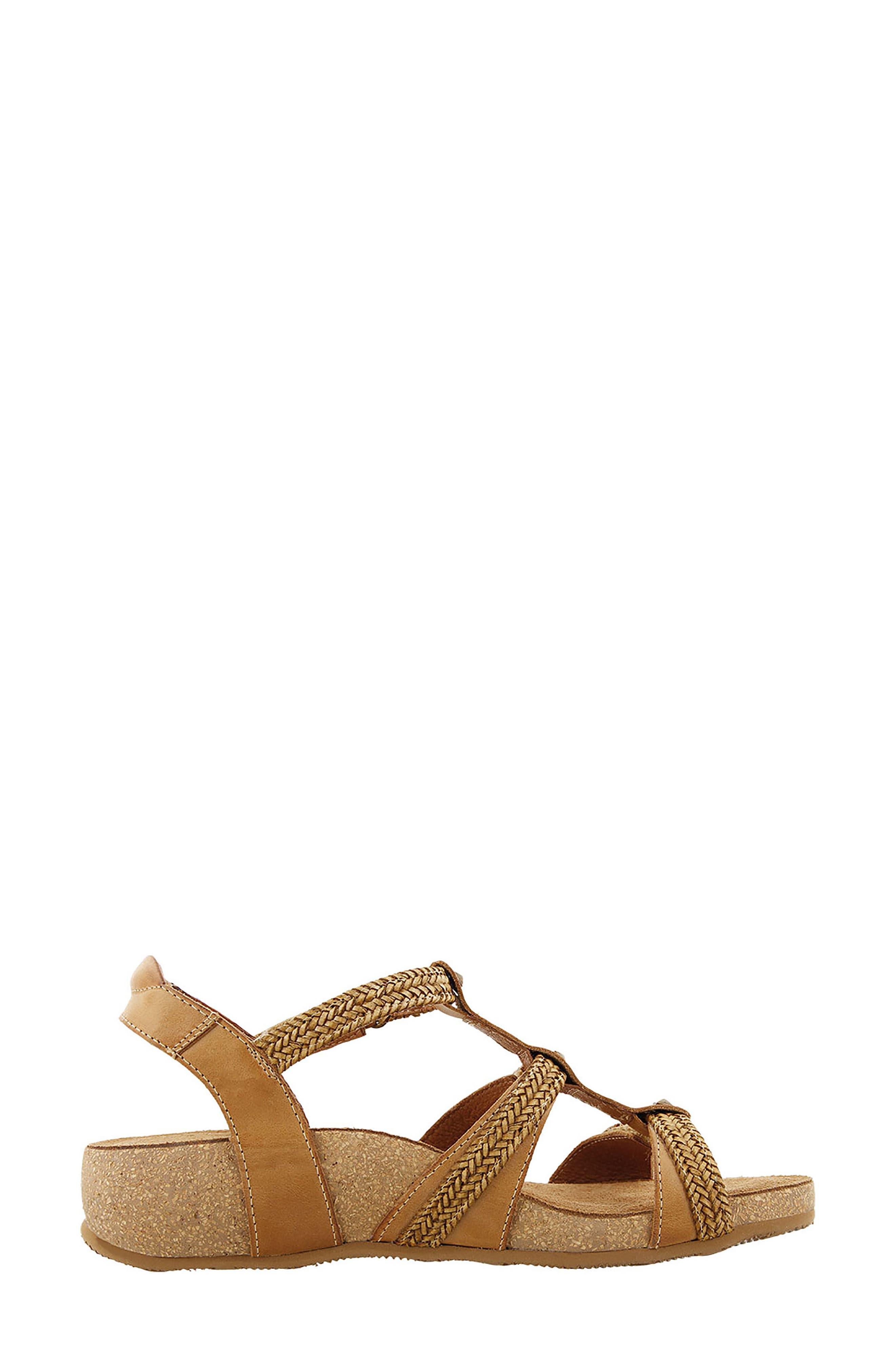 Eleanor Sandal,                             Alternate thumbnail 2, color,                             Camel Leather