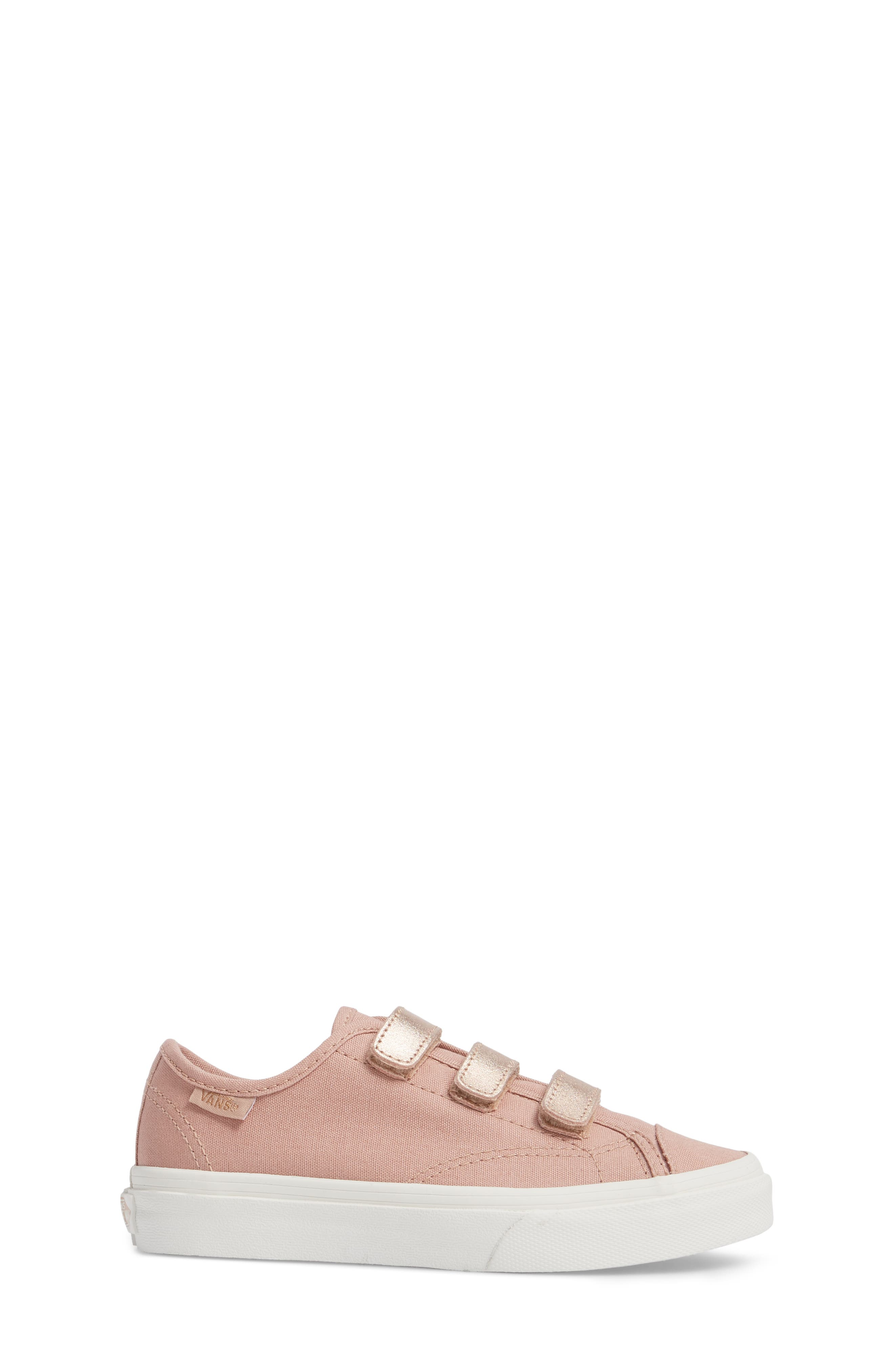 Style 23V Sneaker,                             Alternate thumbnail 3, color,                             Two-Tone Rose Gold Metallic