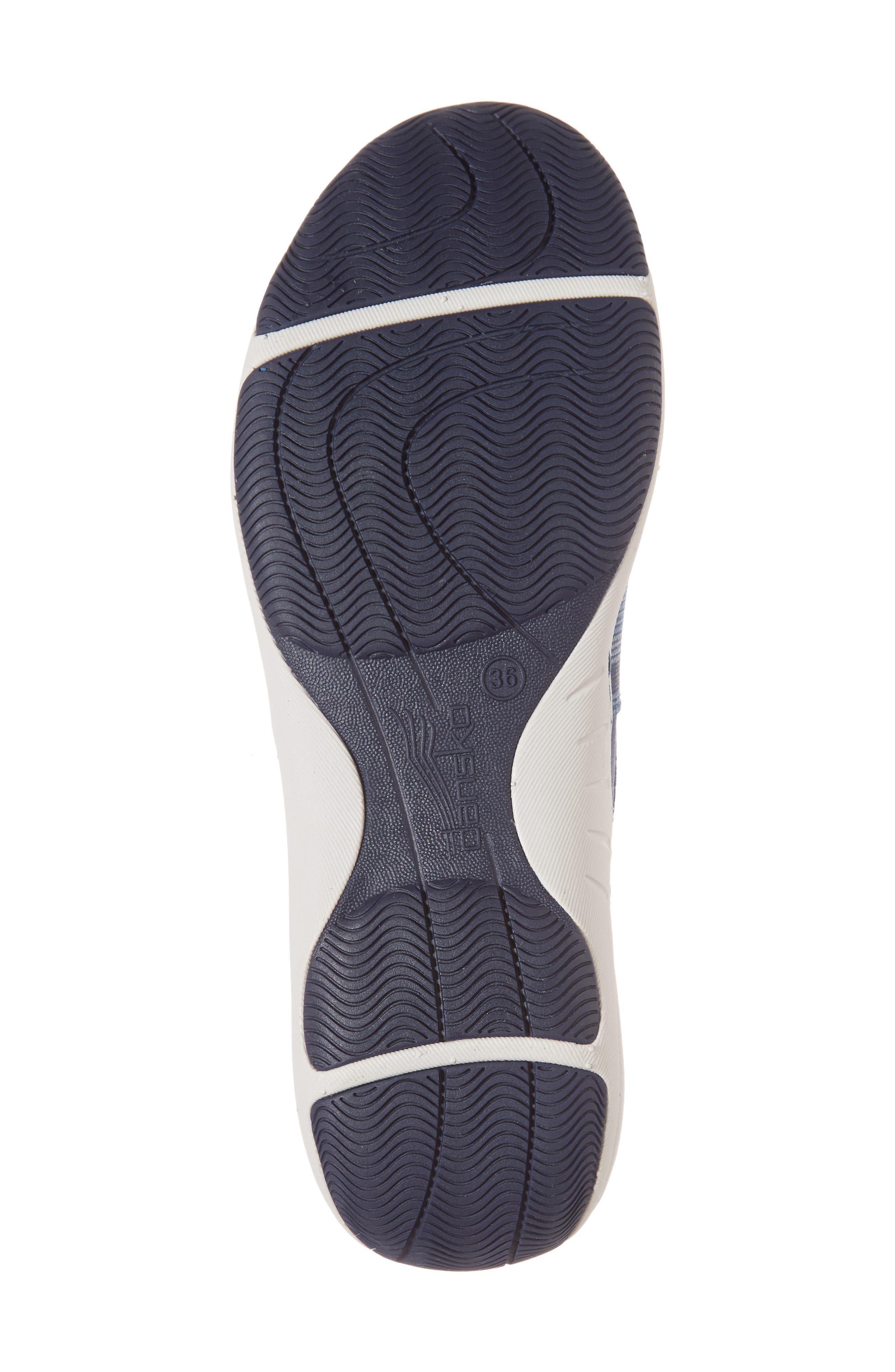 Harriet Slip-On Sneaker,                             Alternate thumbnail 6, color,                             Blue Suede