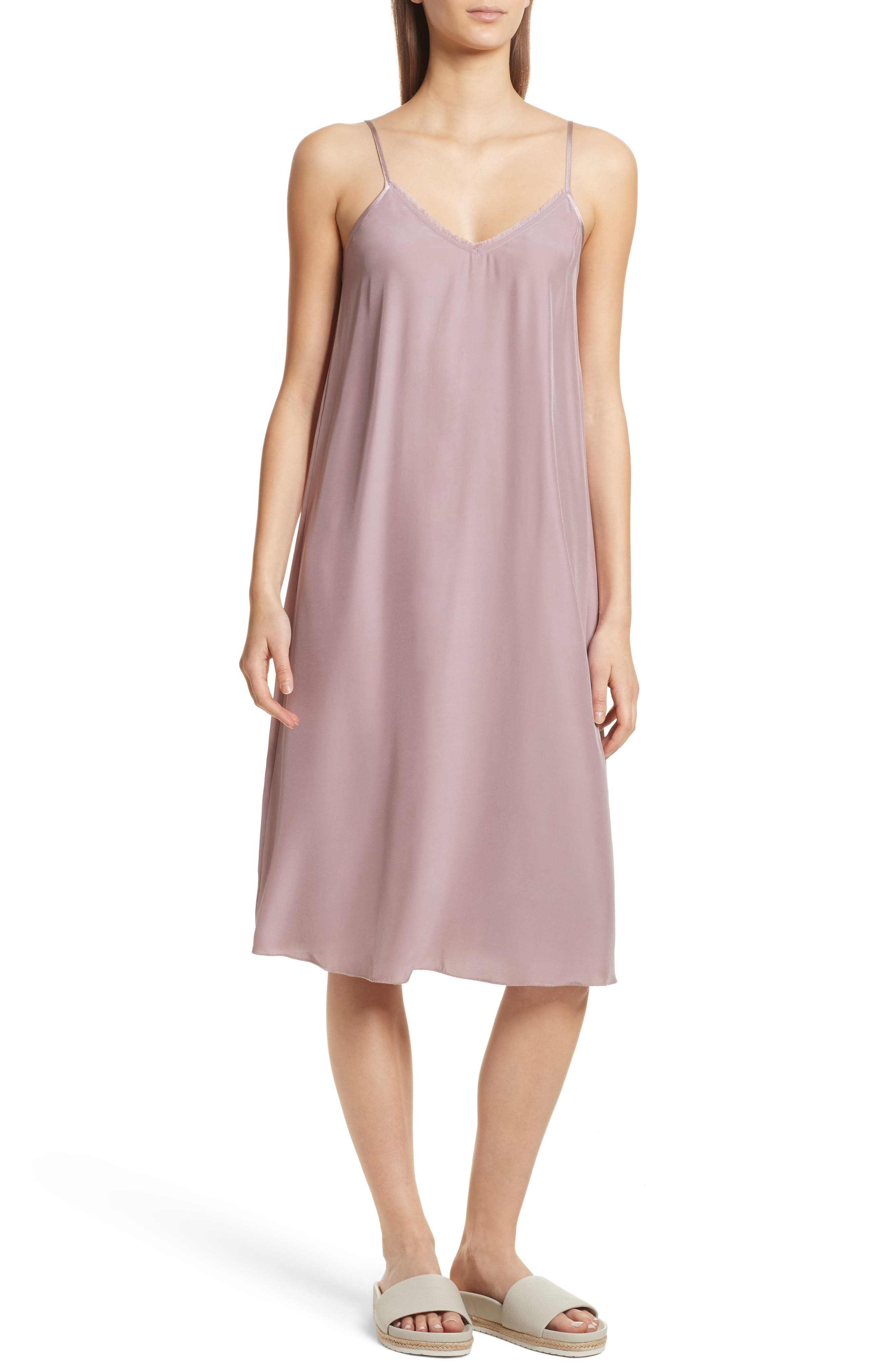 ATM Anthony Thomas Melillo Silk Charmeuse Slipdress