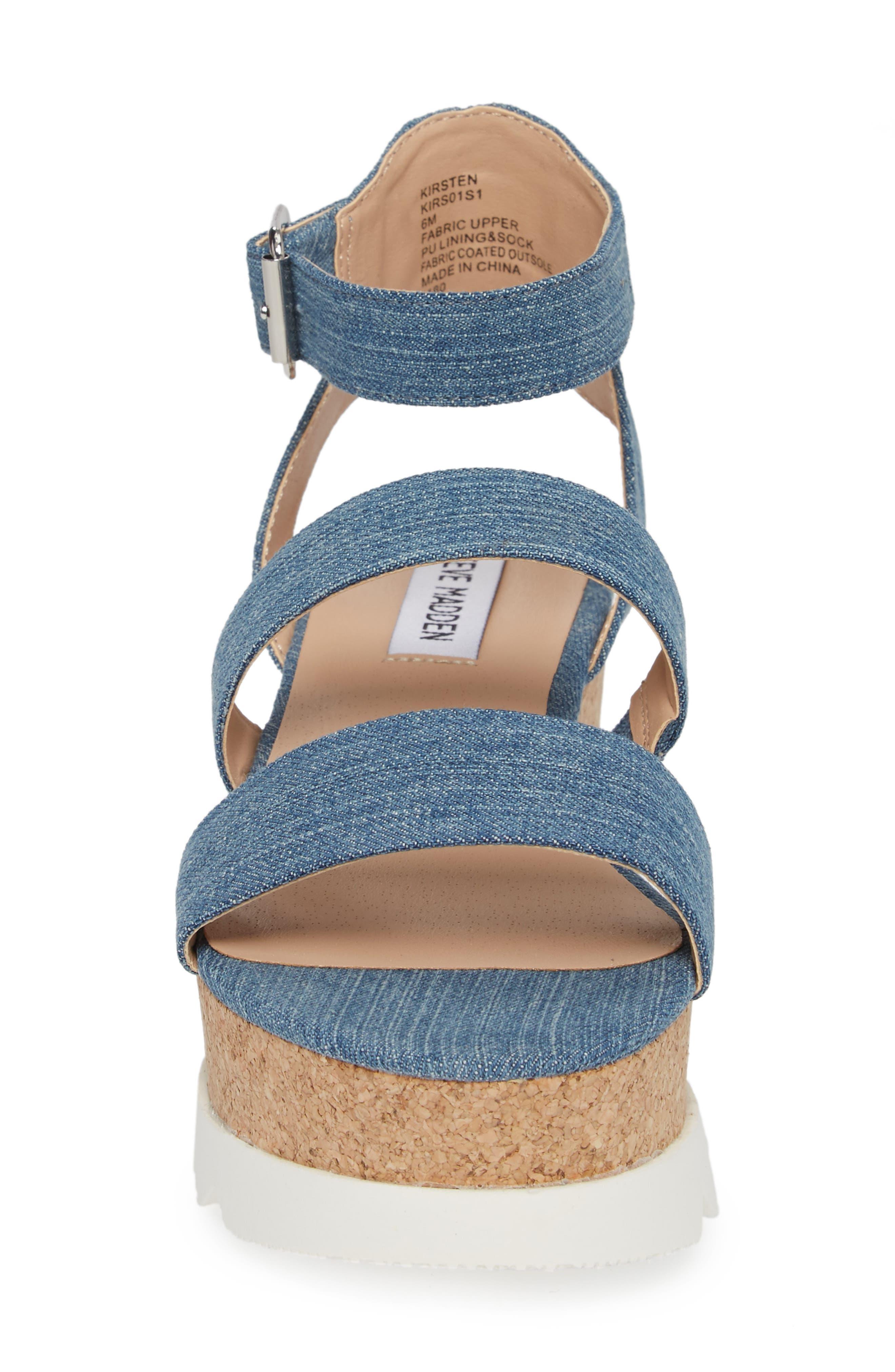 Alternate Image 4  - Steve Madden Kirsten Layered Platform Sandal (Women)