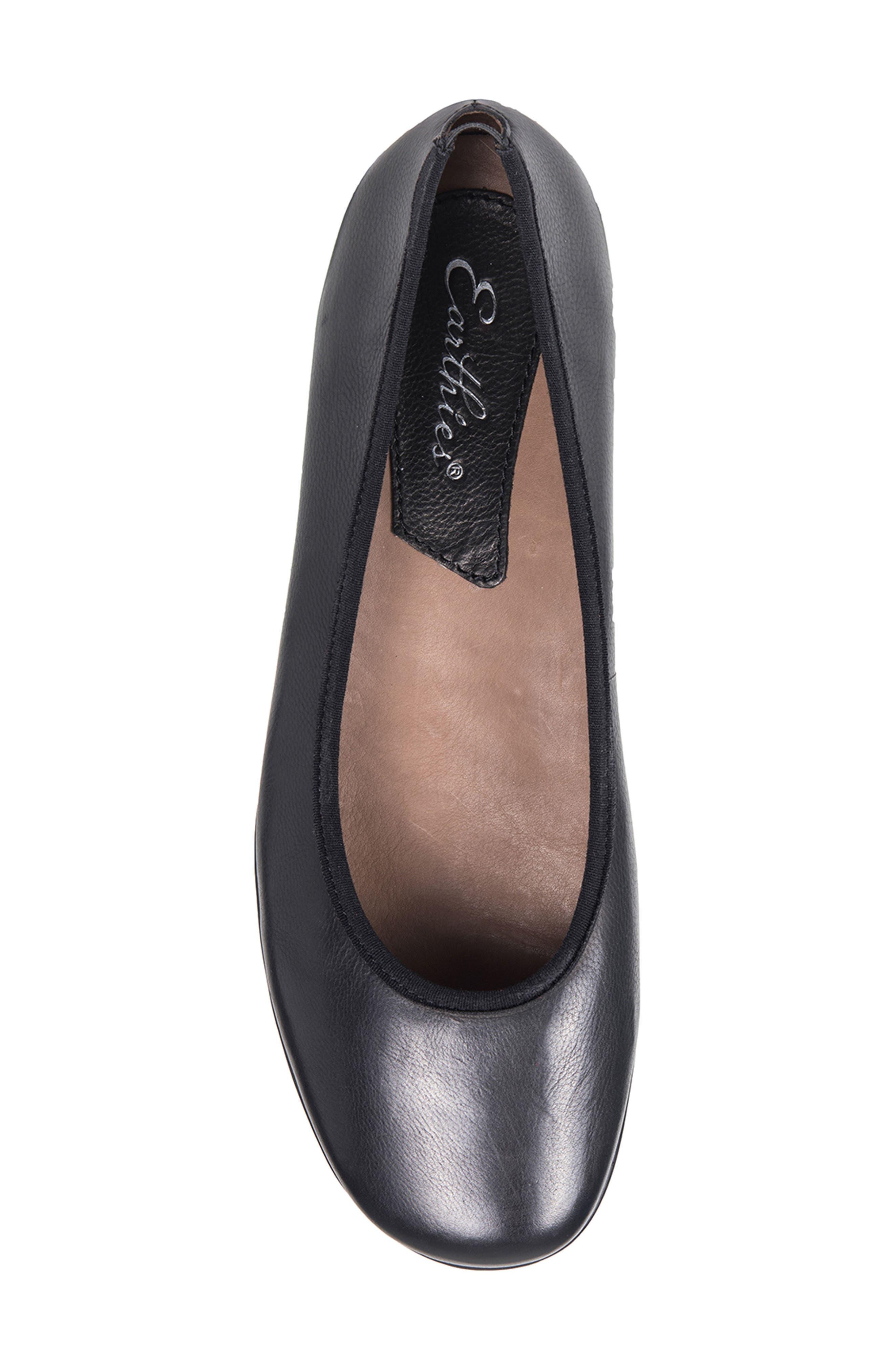 Ennis Flat,                             Alternate thumbnail 5, color,                             Black Leather