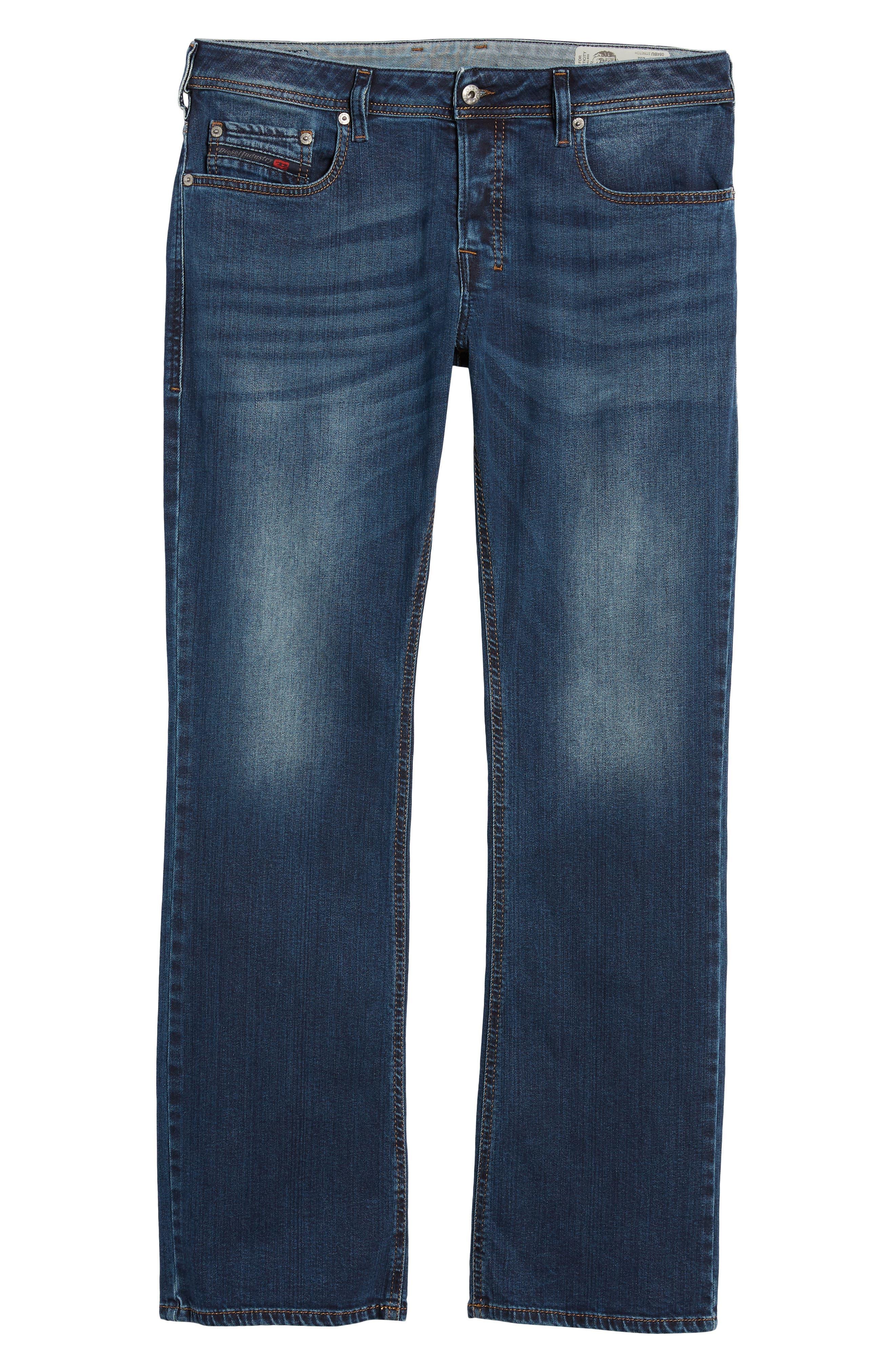 Alternate Image 6  - DIESEL® Zatiny Bootcut Jeans (084BU)