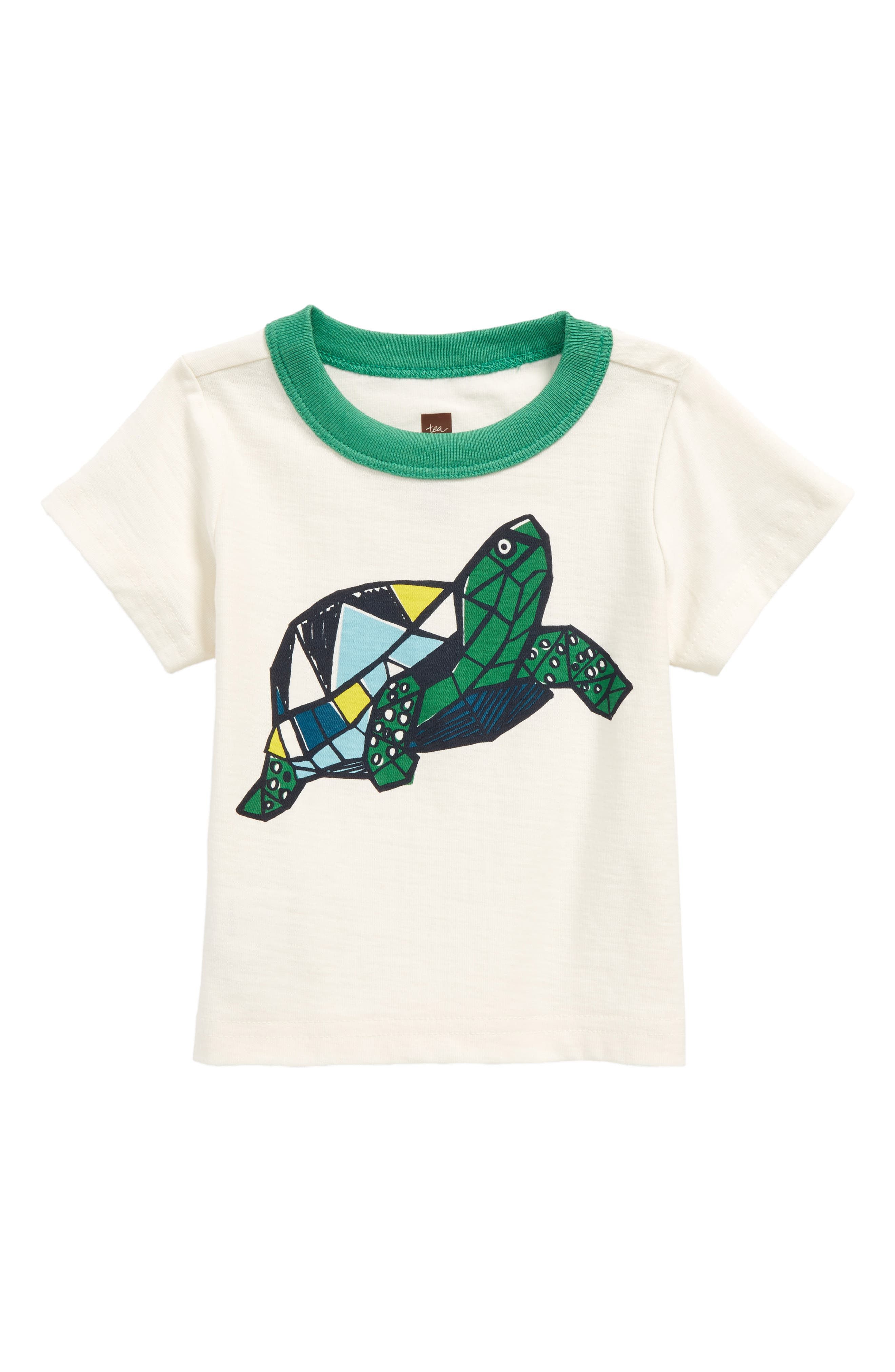 Turtle Power T-Shirt,                             Main thumbnail 1, color,                             Chalk