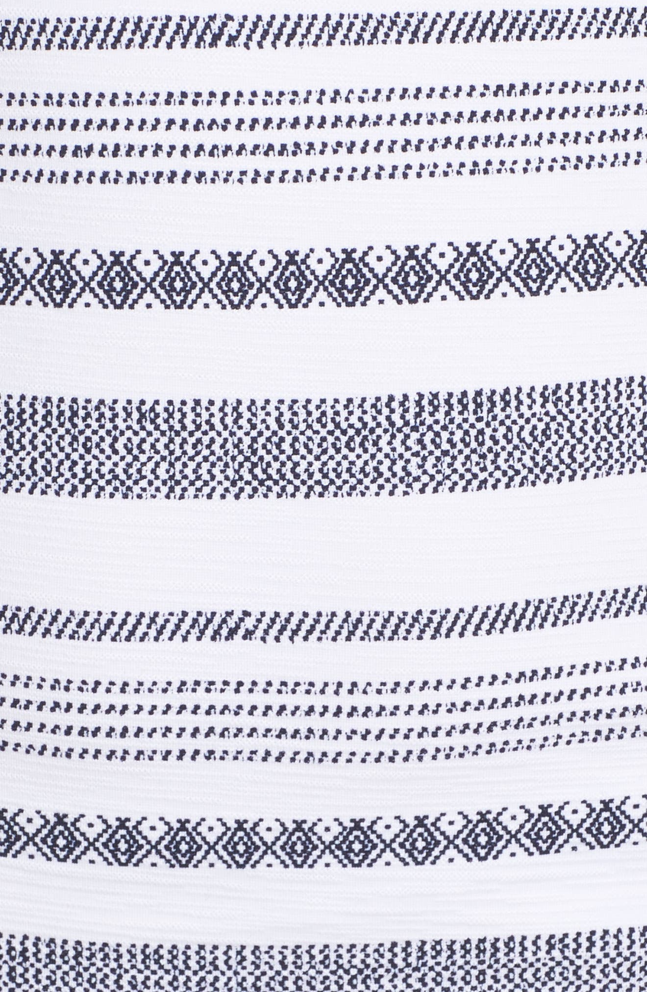 Sand Bar Tankini Top,                             Alternate thumbnail 6, color,                             White