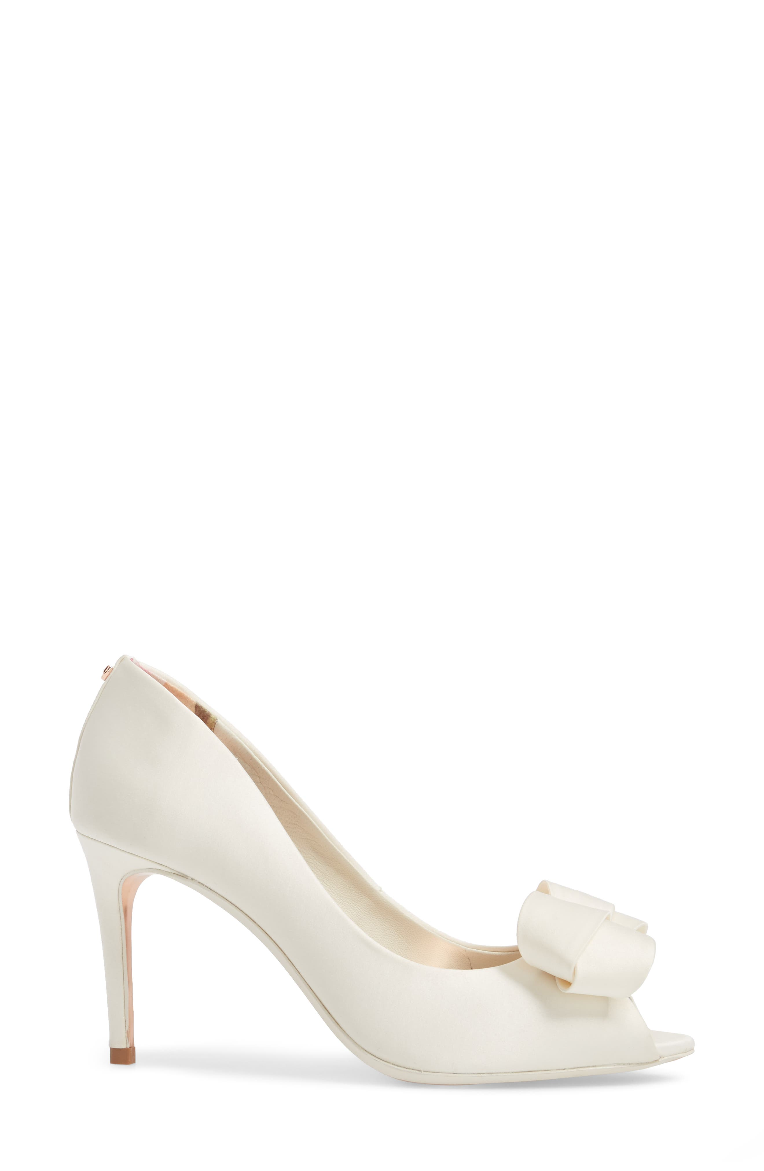 Alternate Image 3  - Ted Baker London Vylett Peep Toe Pump (Women)