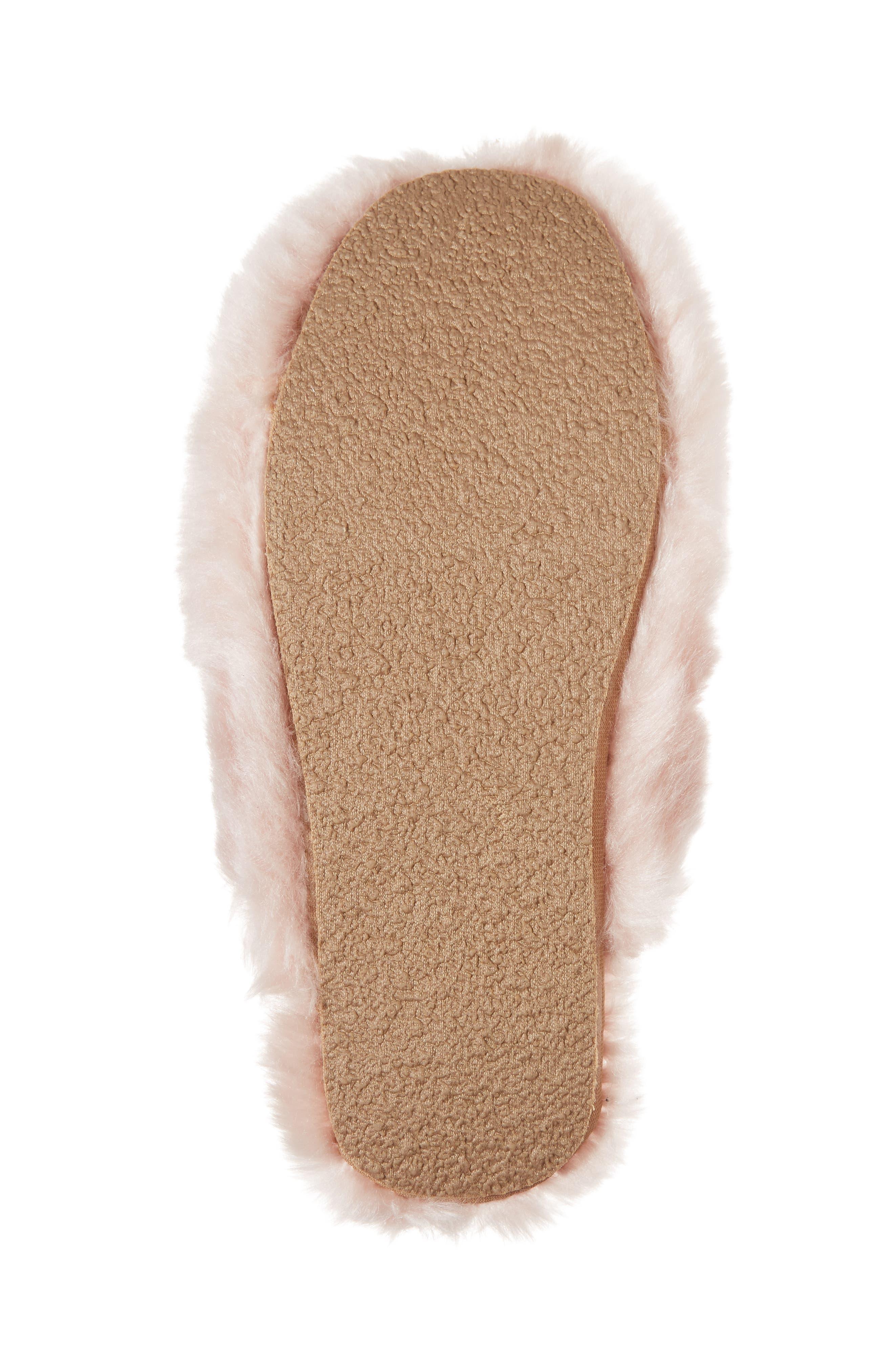 Alternate Image 6  - J.Crew Faux Fur Slipper (Women)