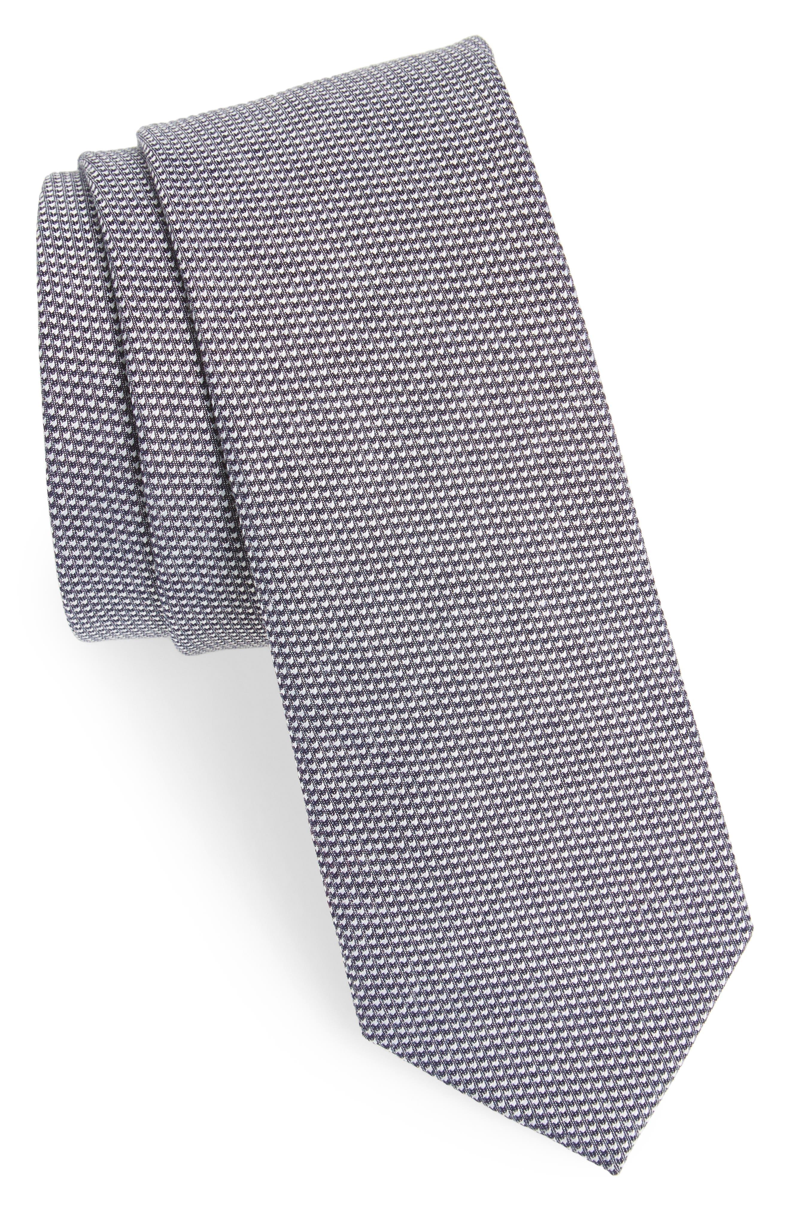 Main Image - Nordstrom Men's Shop Bryan Solid Cotton Tie