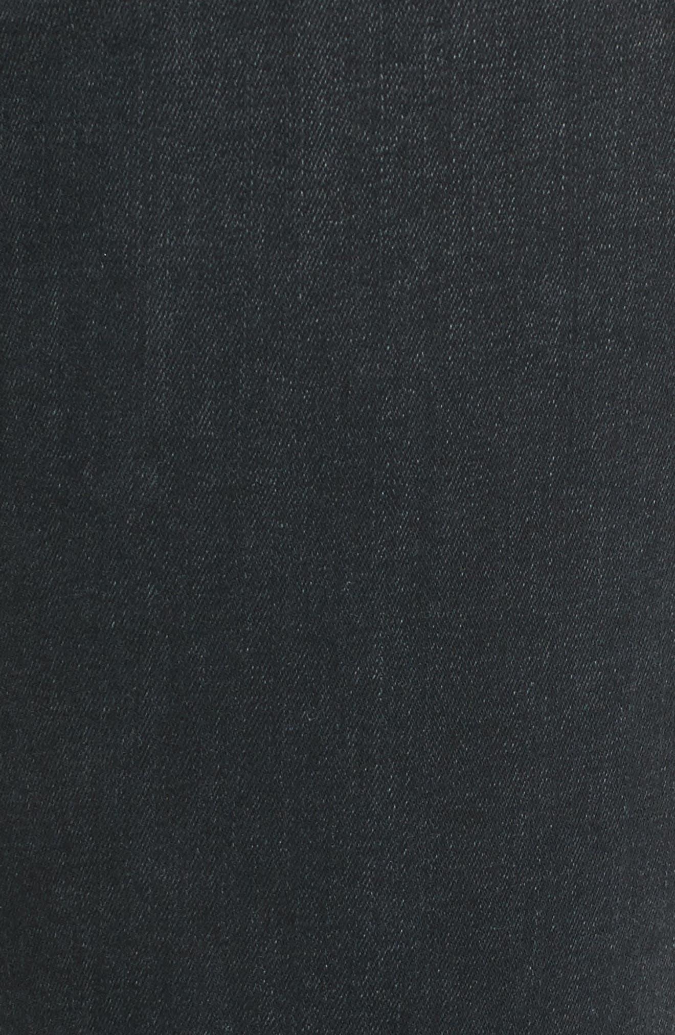 Charlie High Waist Ankle Skinny Jeans,                             Alternate thumbnail 5, color,                             Sonata