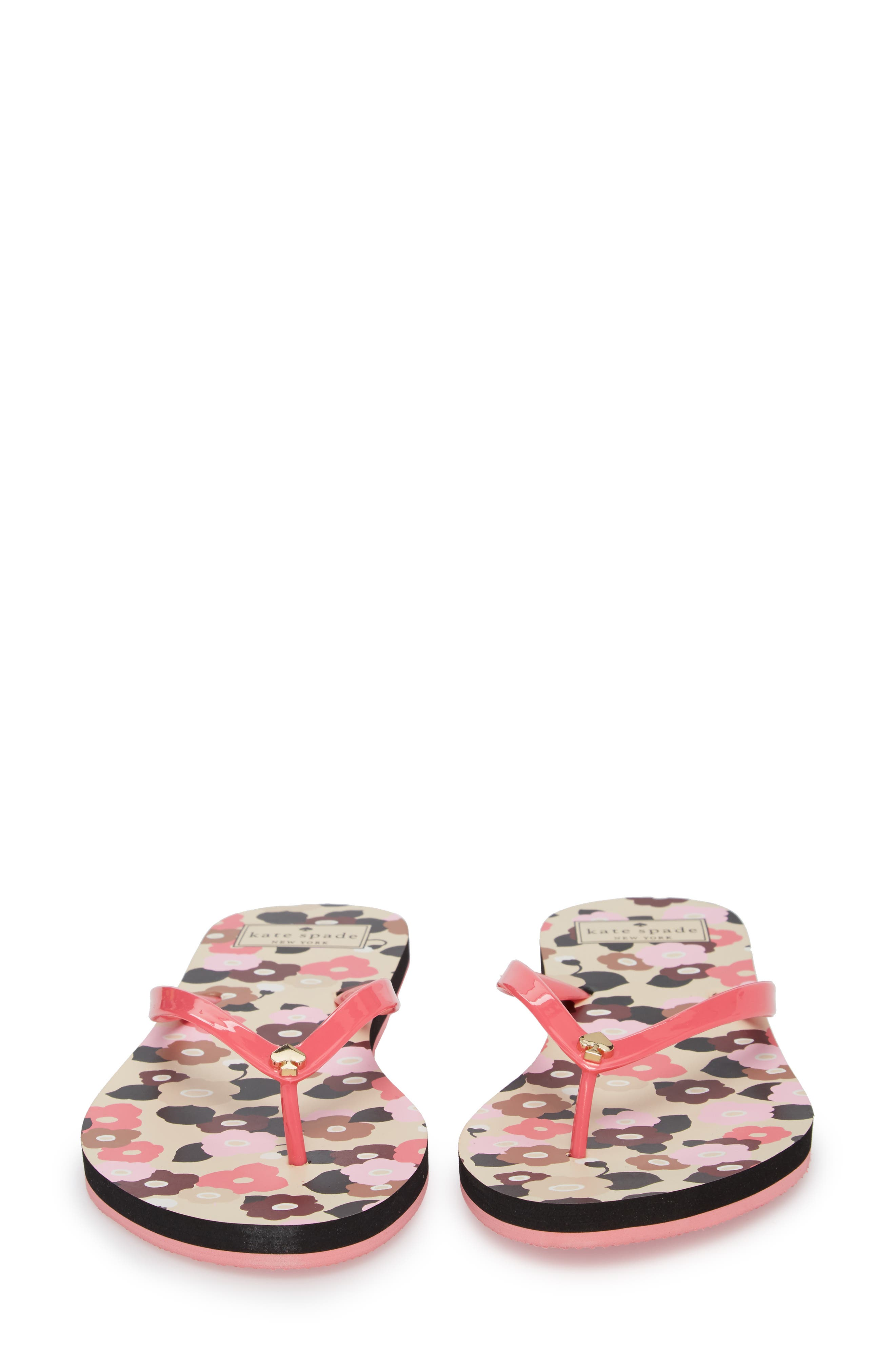 nassau flip flop,                             Alternate thumbnail 4, color,                             Petunia Pink