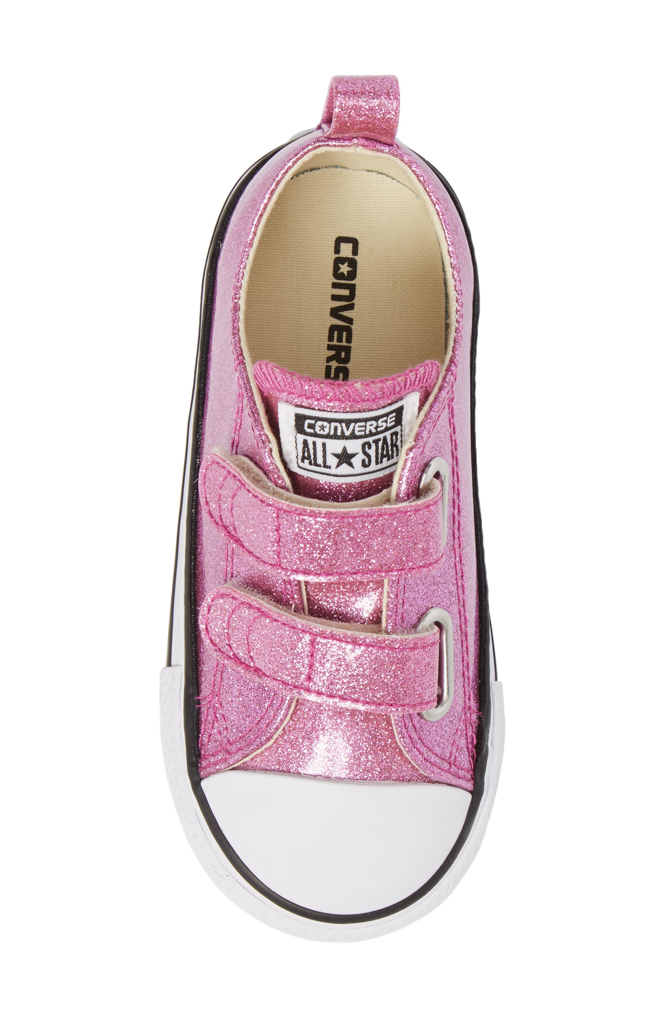 All Star<sup>®</sup> Seasonal Glitter Sneaker,                             Alternate thumbnail 5, color,                             Bright Violet