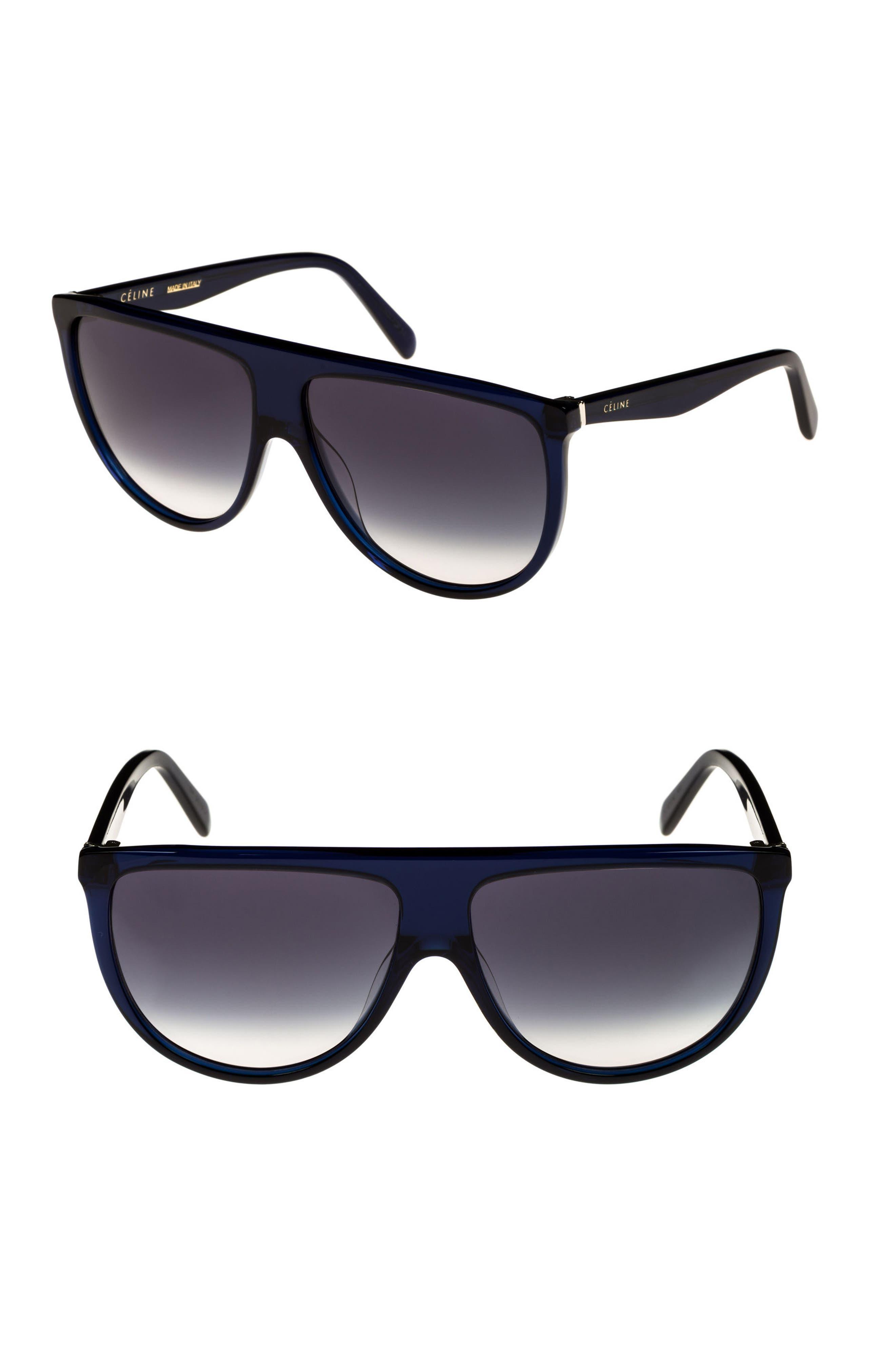 76c1fb9dfa547 CELINE. Flattop Gradient Shield International-Fit Sunglasses ...