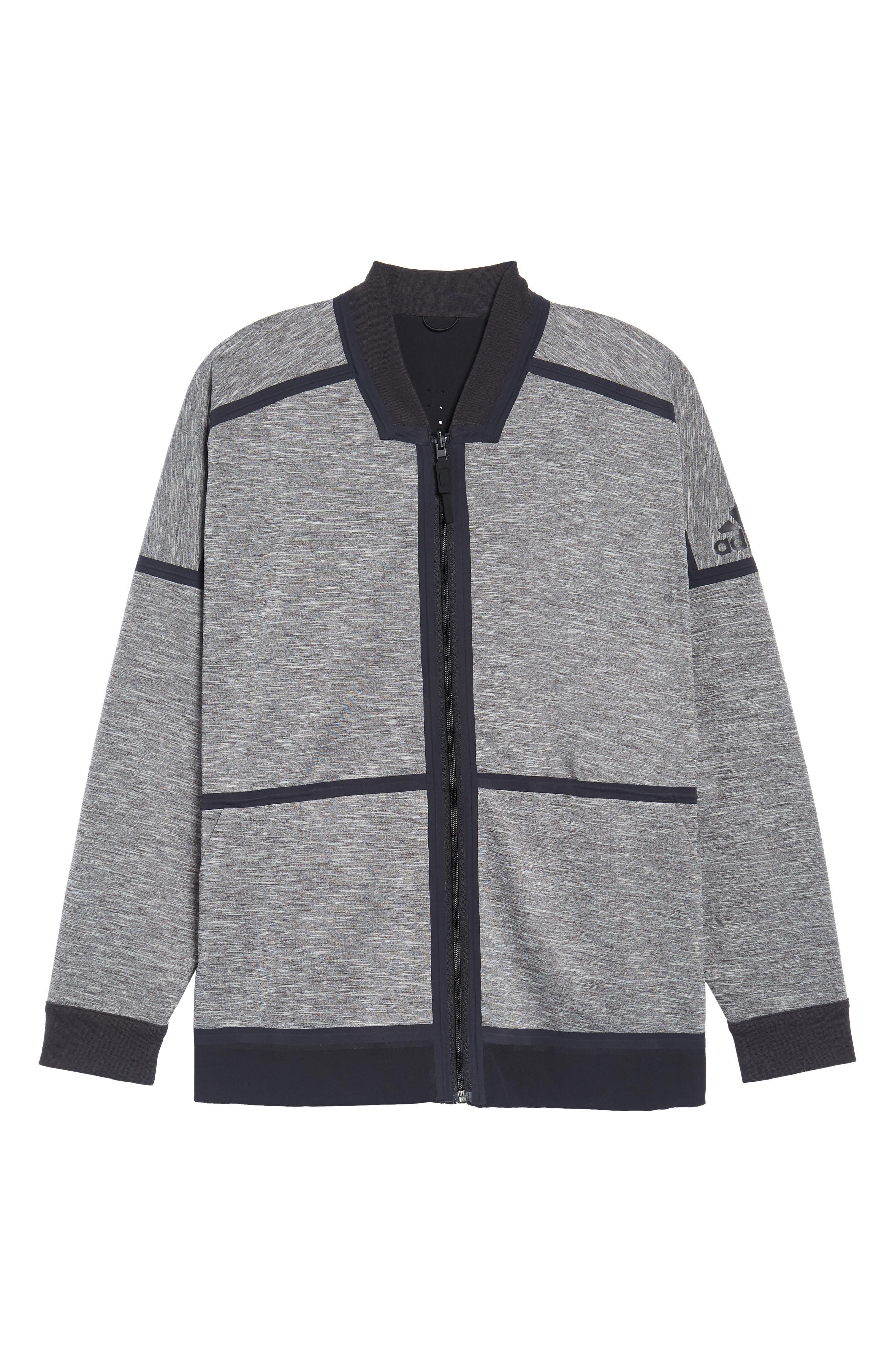 Z.N.E. Reversible Ventilated Jacket,                             Alternate thumbnail 3, color,                             Black / Storm Heather/ Mgh