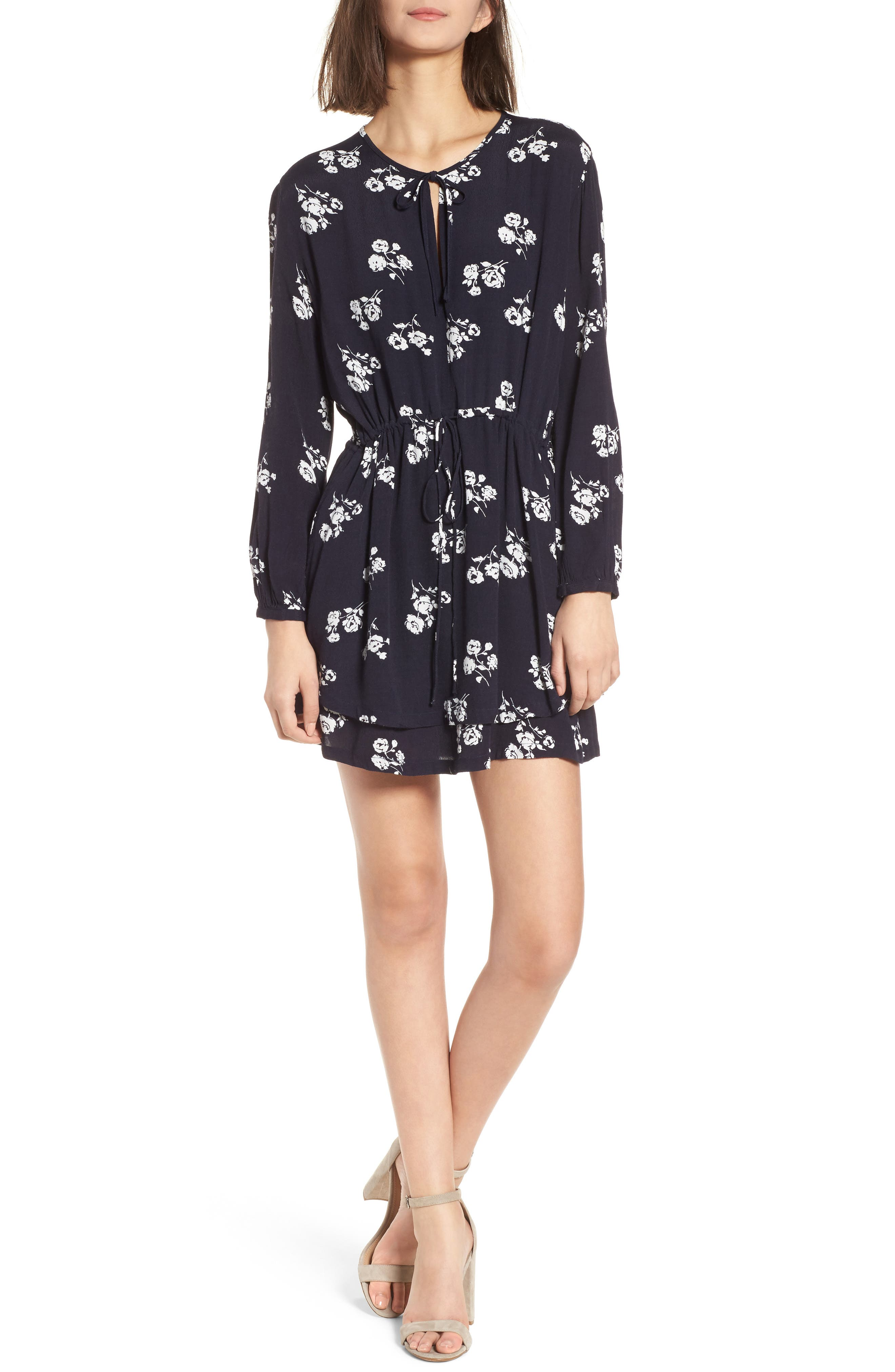 Main Image - Rails Sonya Drawstring Waist Dress