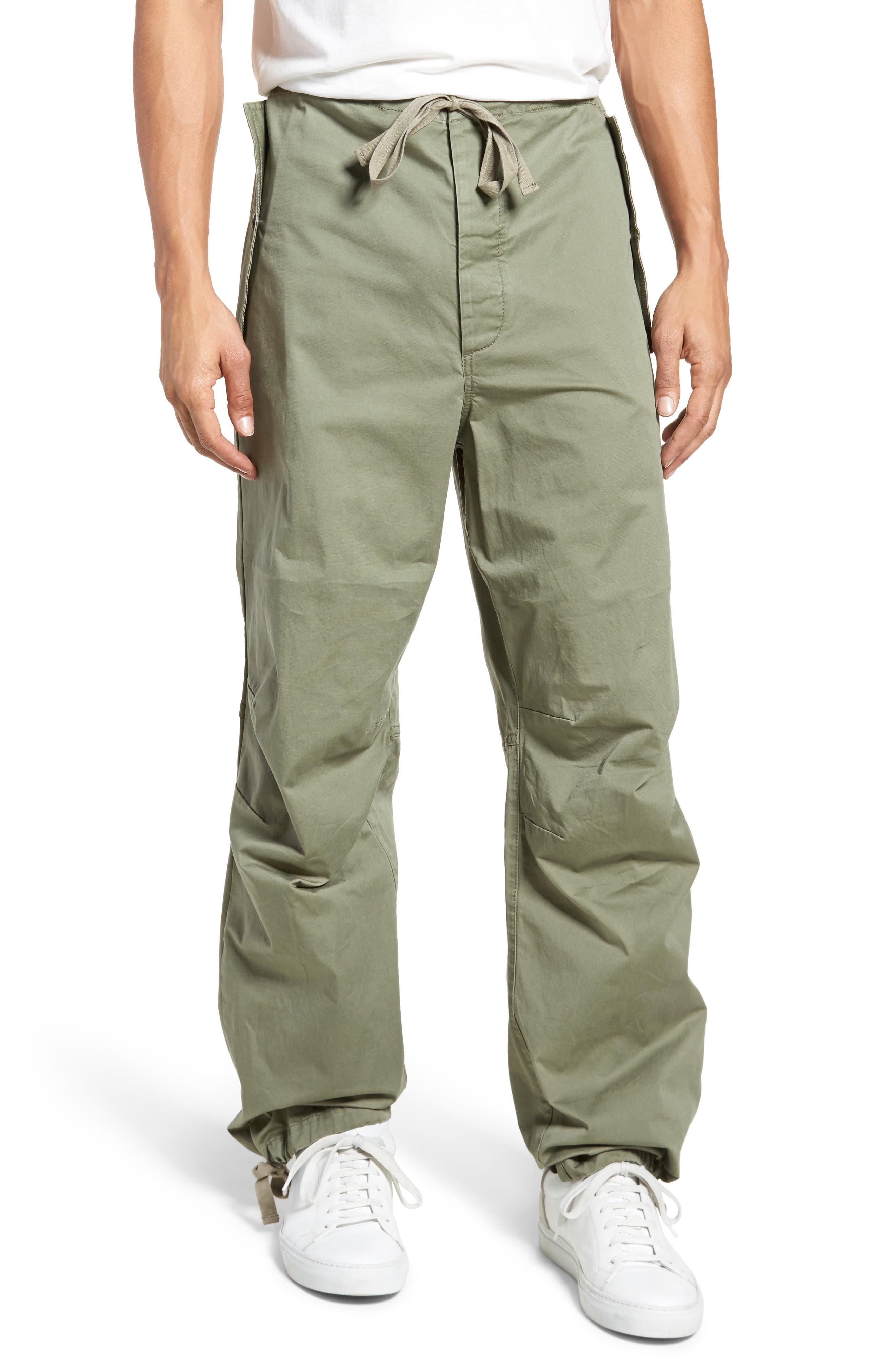 Military Broken Twill Pants,                         Main,                         color, Deep Lichen Green