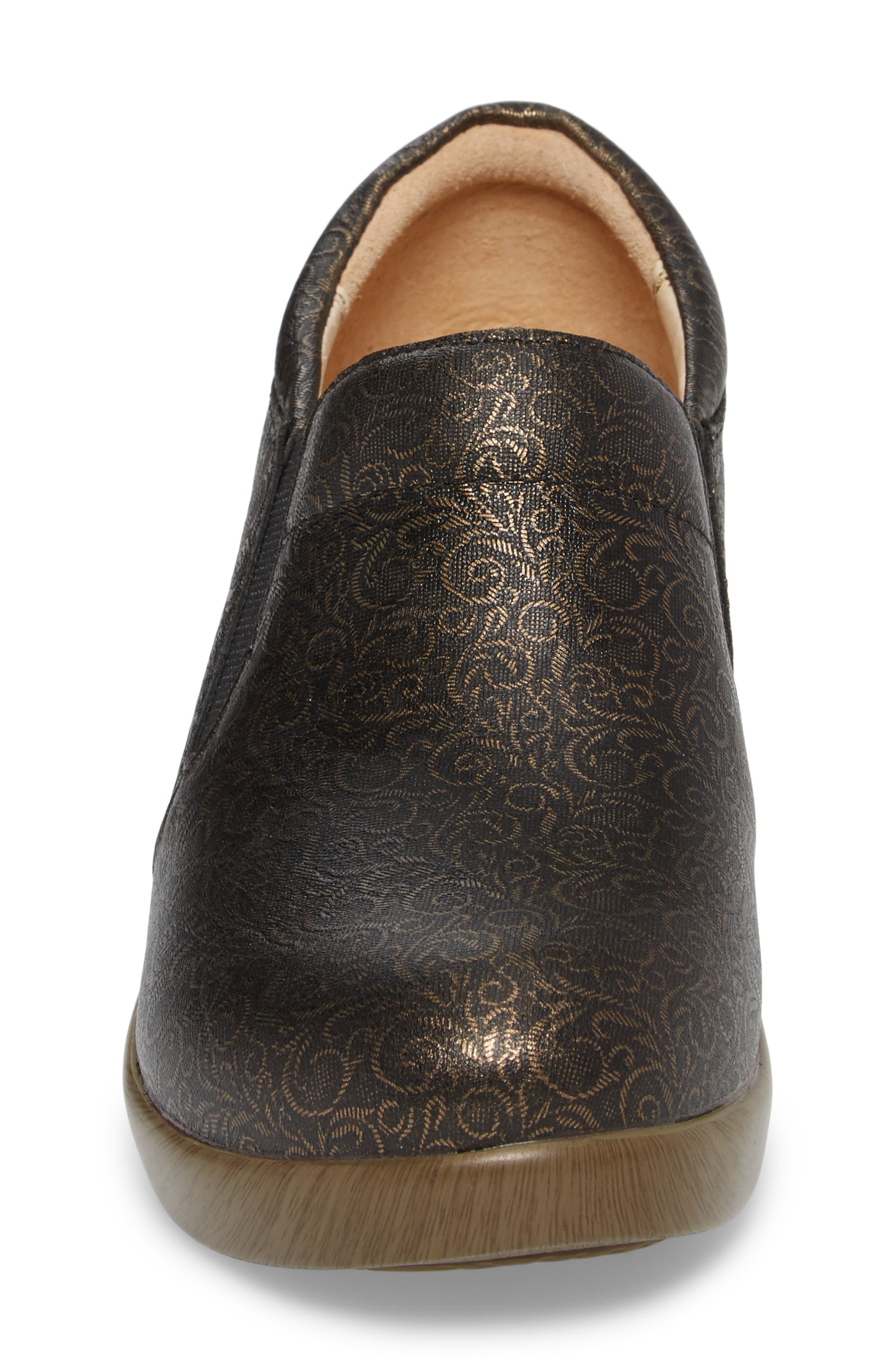 Eryn Pump,                             Alternate thumbnail 4, color,                             Bronze Swirl Leather