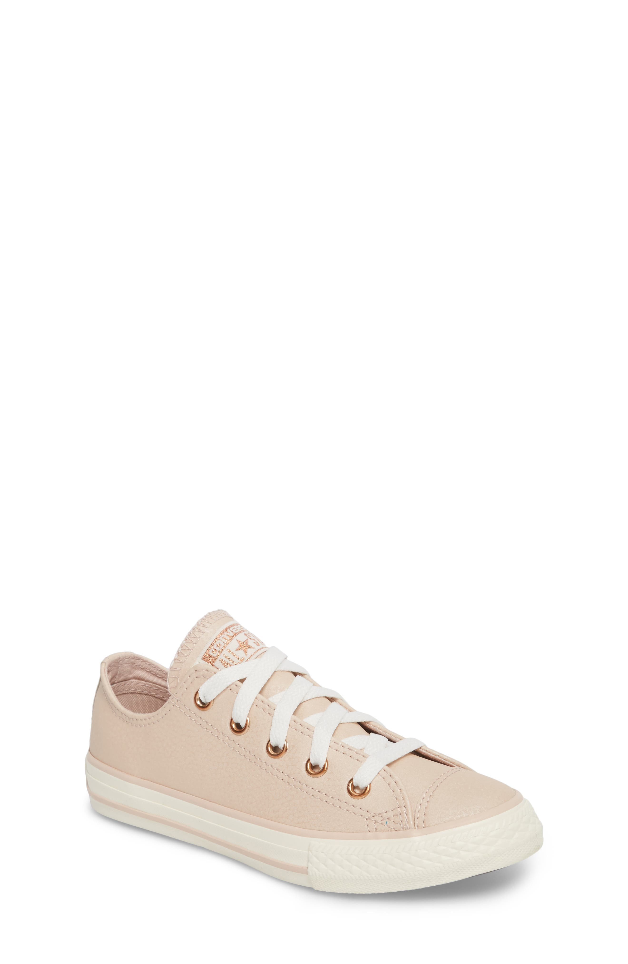 All Star<sup>®</sup> Fashion Low Top Sneaker,                         Main,                         color, Particle Beige