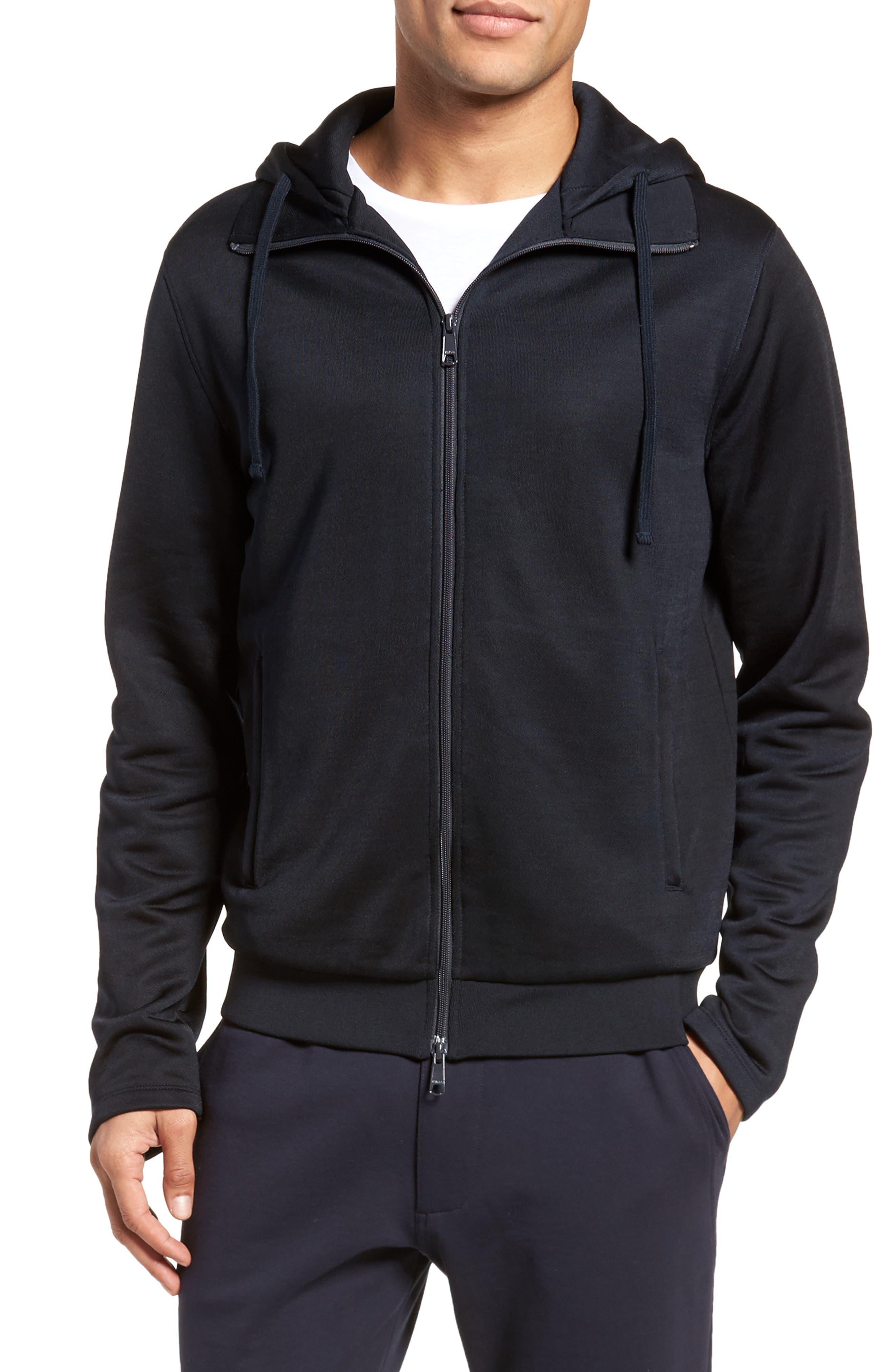 Regular Fit Zip Hoodie,                         Main,                         color, New Coastal