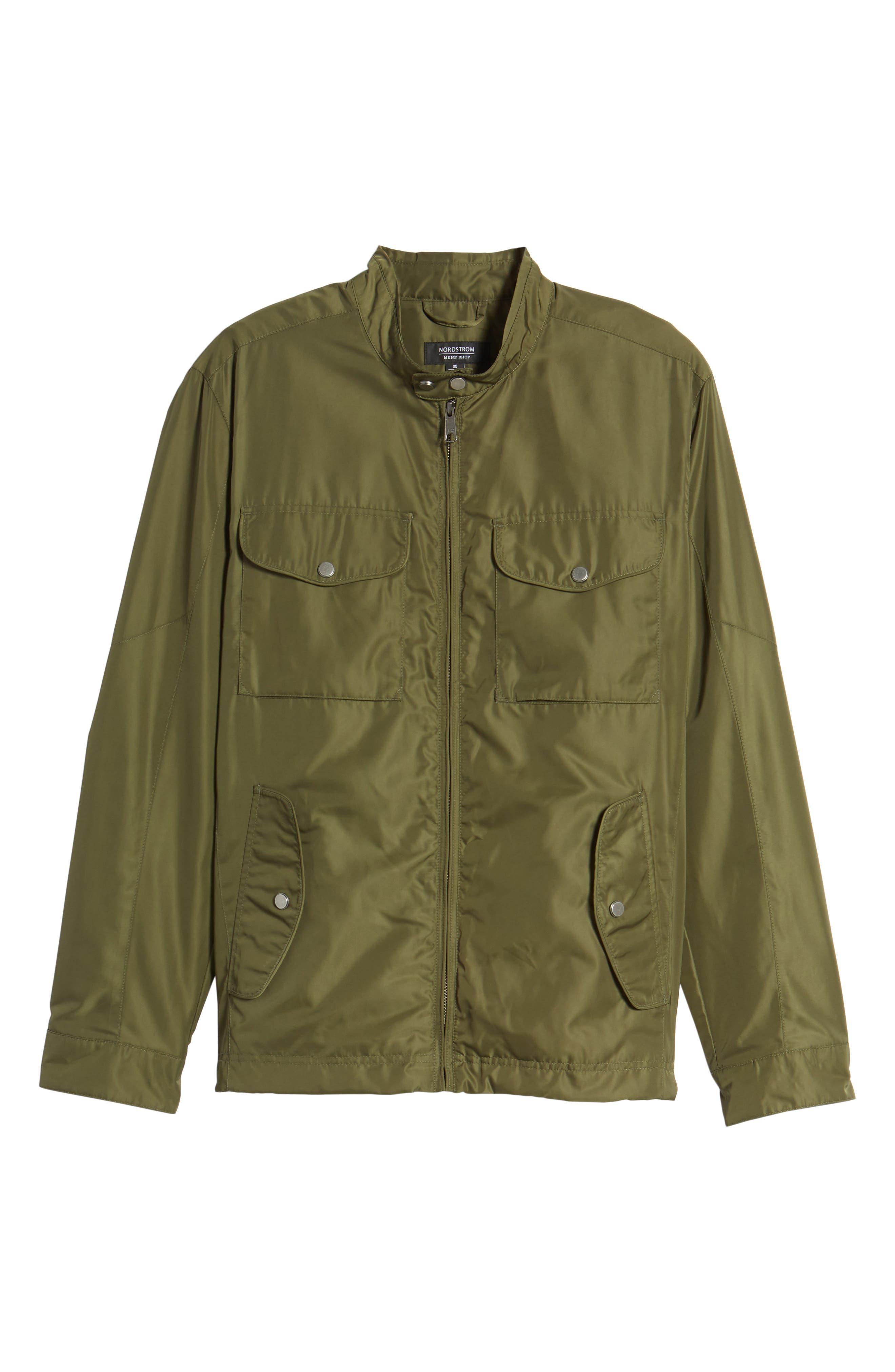 Utility Jacket,                             Alternate thumbnail 6, color,                             Green Bronze