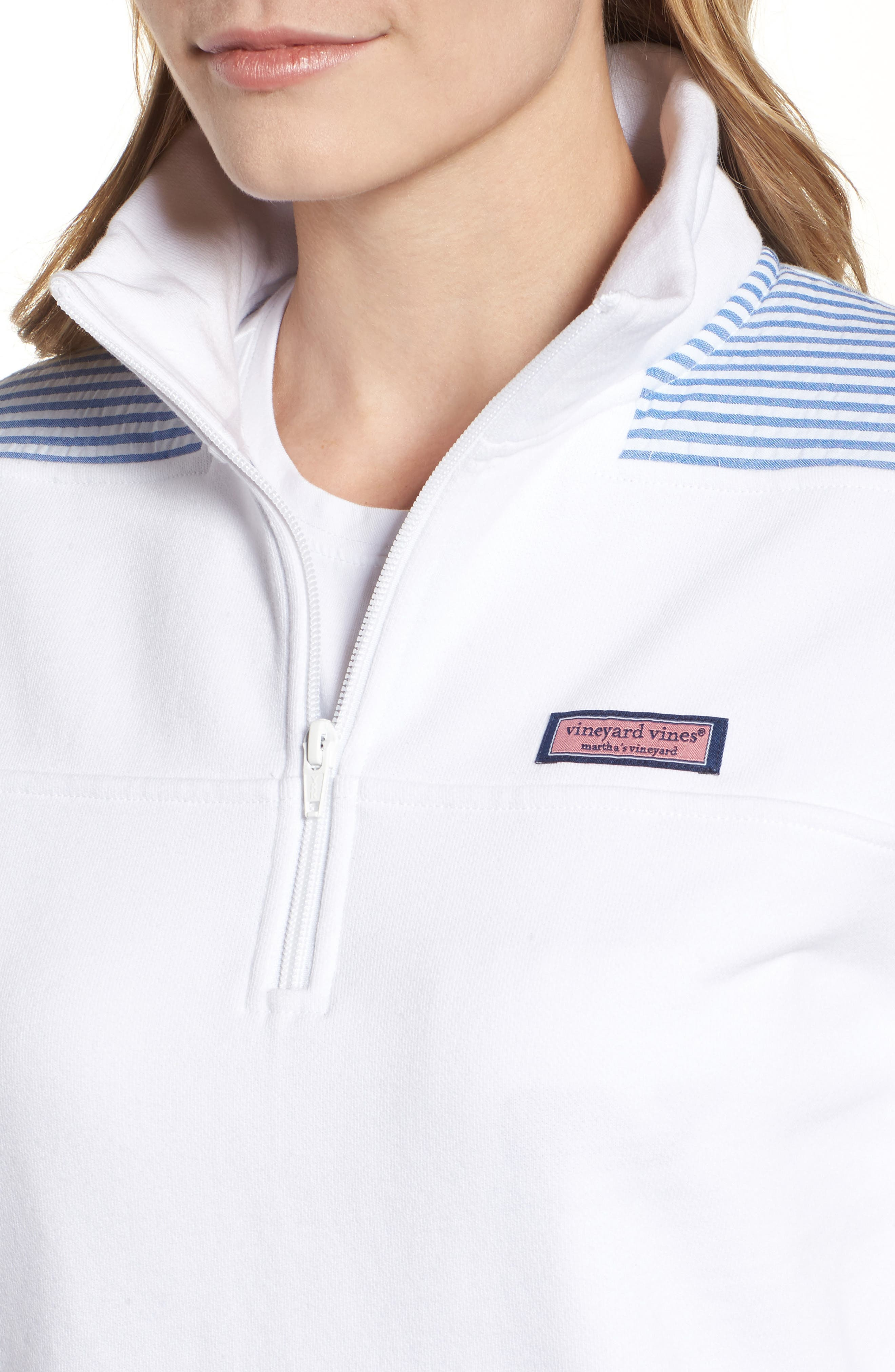 Alternate Image 4  - vineyard vines Shep Quarter Zip Pullover