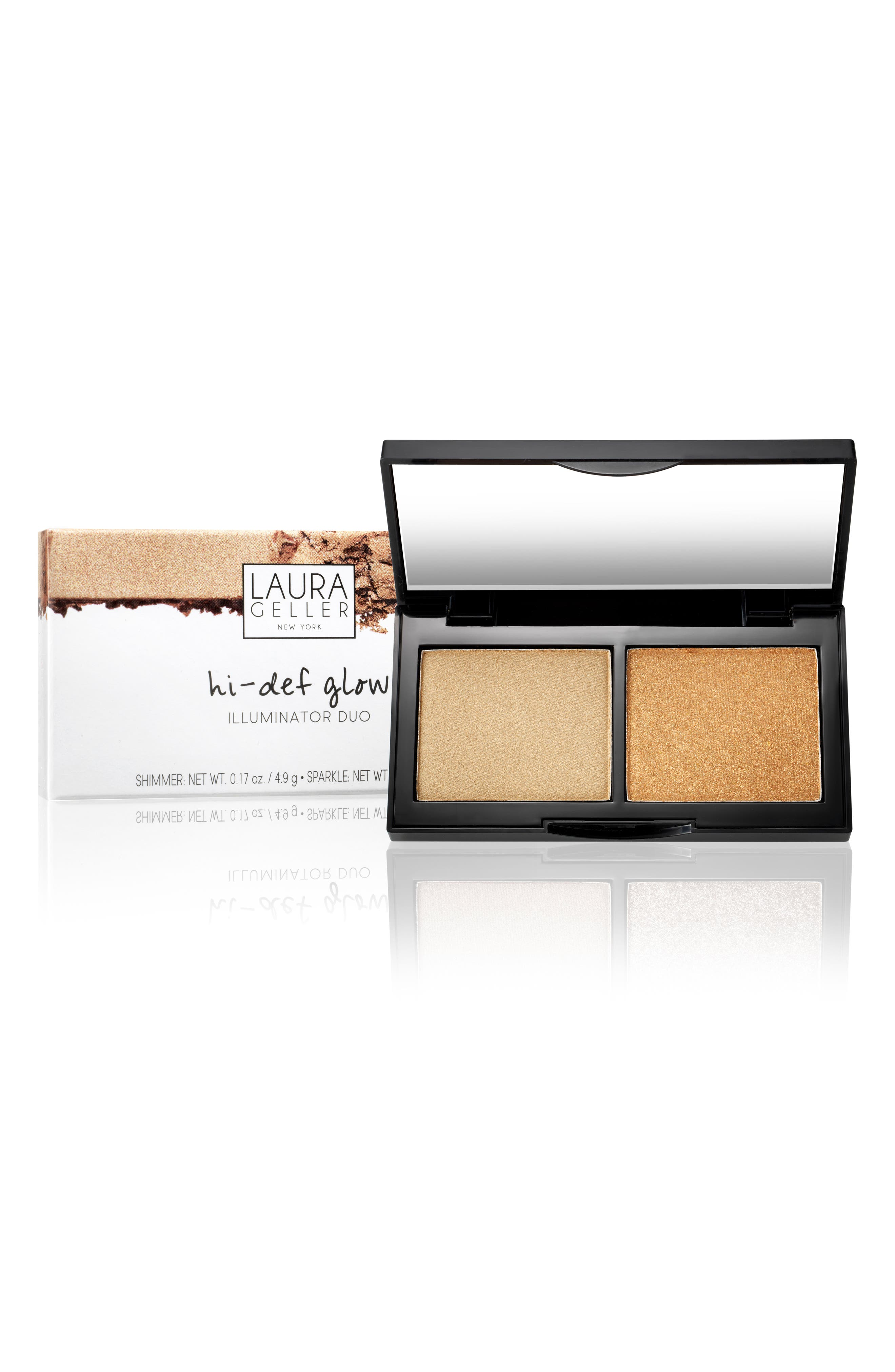 Hi-Def Glow Illuminator Duo,                             Alternate thumbnail 2, color,                             Heart Of Gold