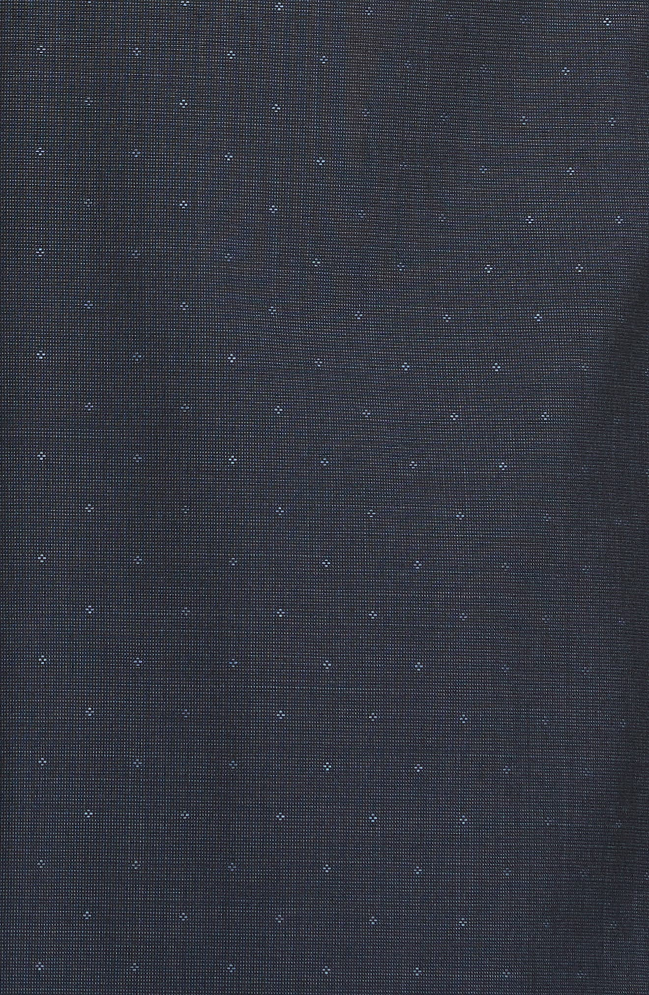 Classic Fit Dot Wool Suit,                             Alternate thumbnail 7, color,                             Navy Check