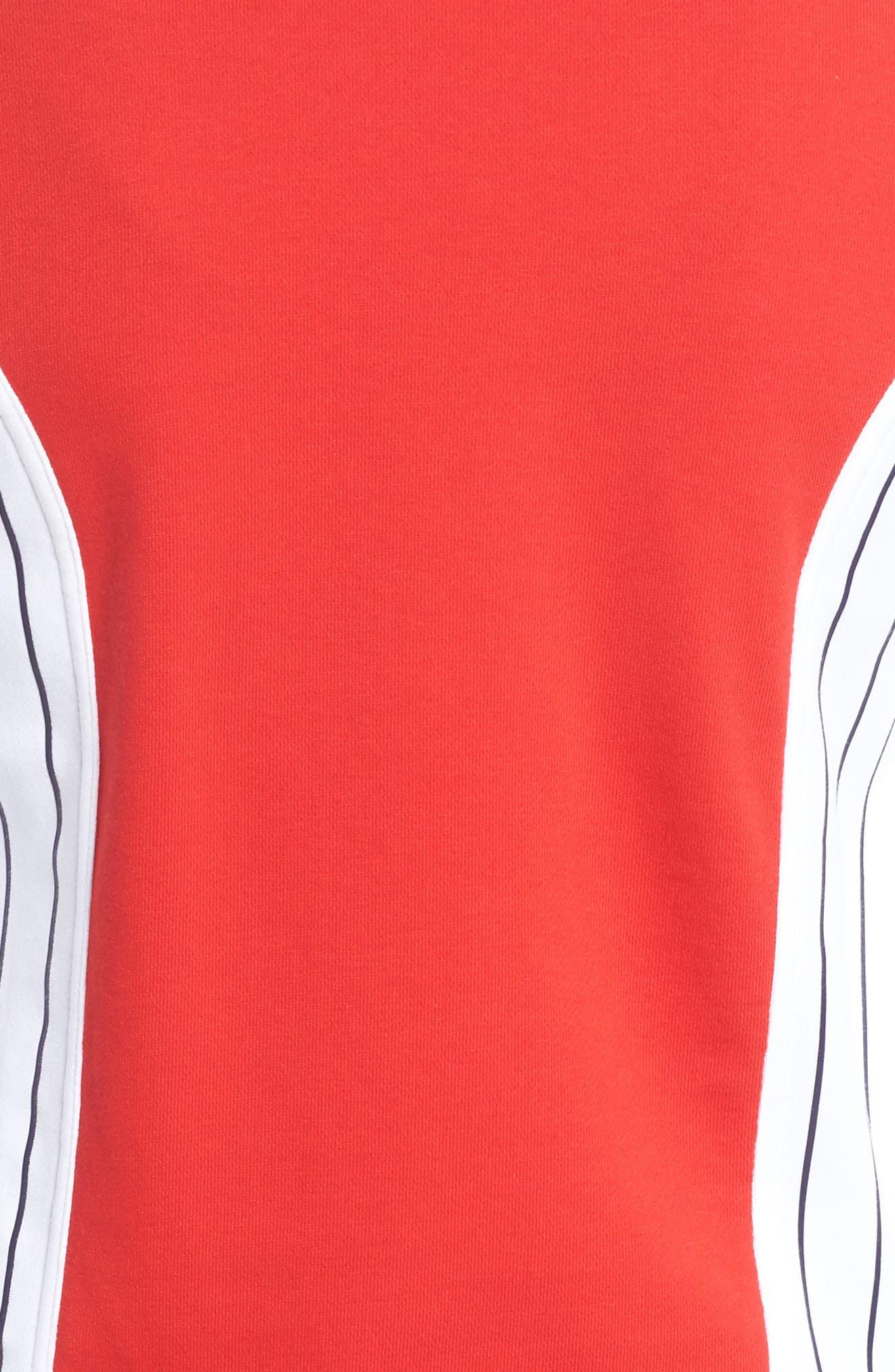 Settanta II Jacket,                             Alternate thumbnail 6, color,                             Chinese Red/ White/ Navy
