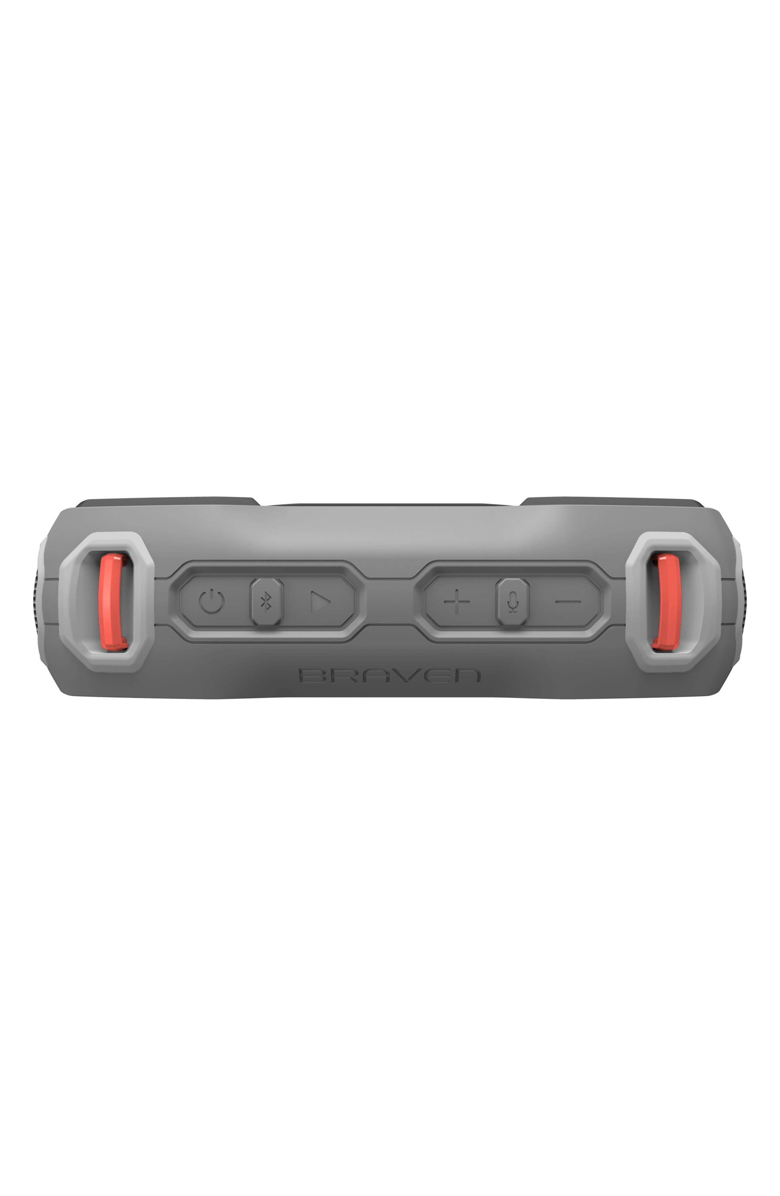 Ready Prime Bluetooth<sup>®</sup> Speaker,                             Alternate thumbnail 6, color,                             Grey/ Orange