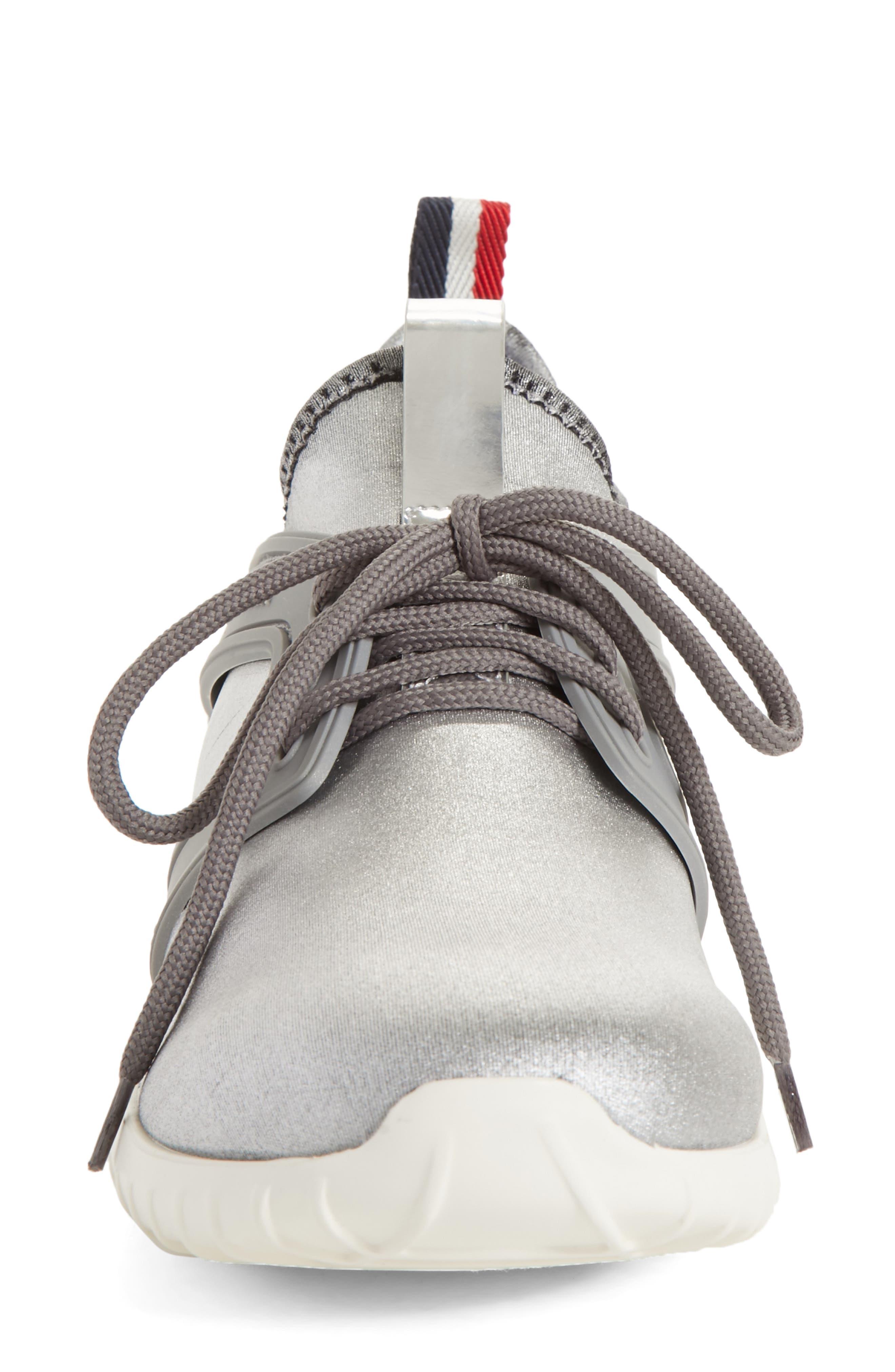 Meline Runner Sneaker,                             Alternate thumbnail 4, color,                             Silver