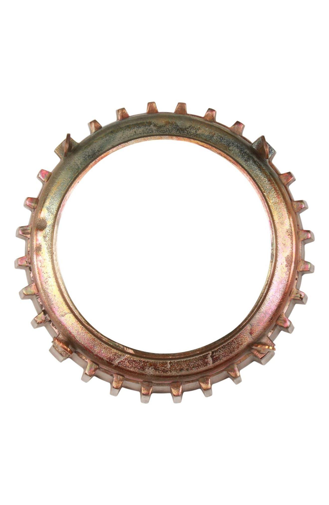 Neston Mirror,                         Main,                         color, Copper/ Cobalt Blue/ Brass
