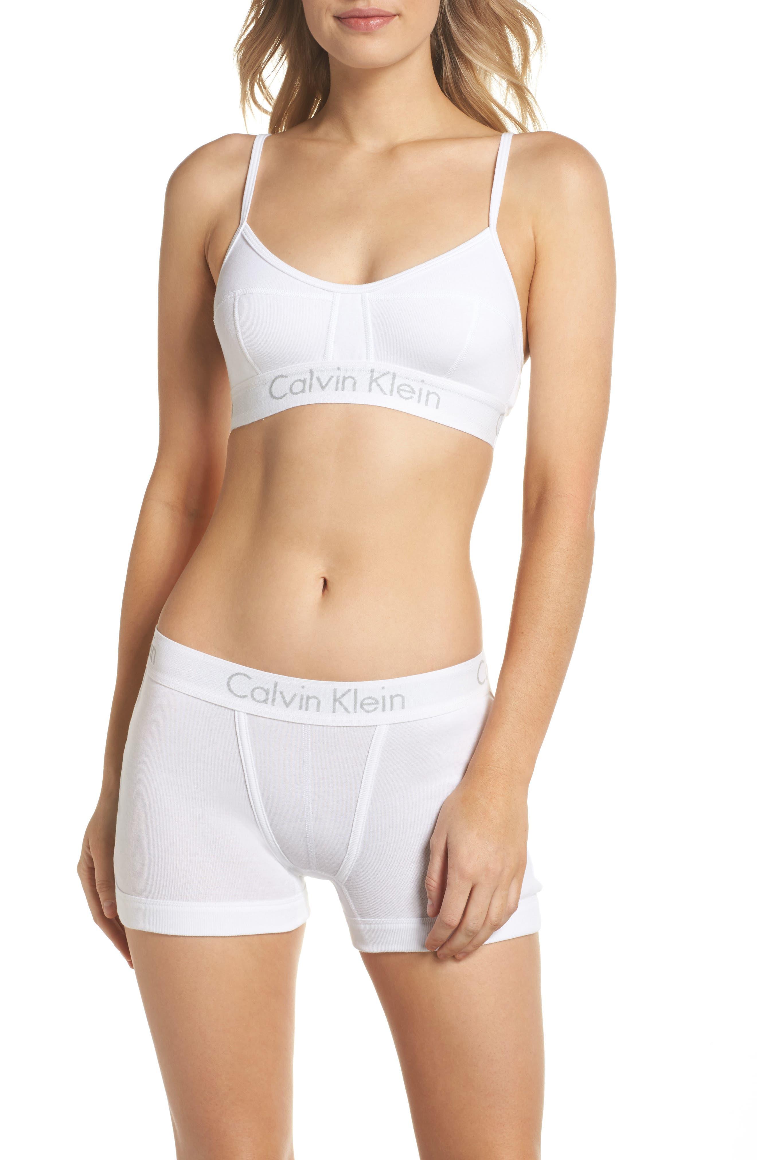 Alternate Image 6  - Calvin Klein Body Convertible Cotton Bralette
