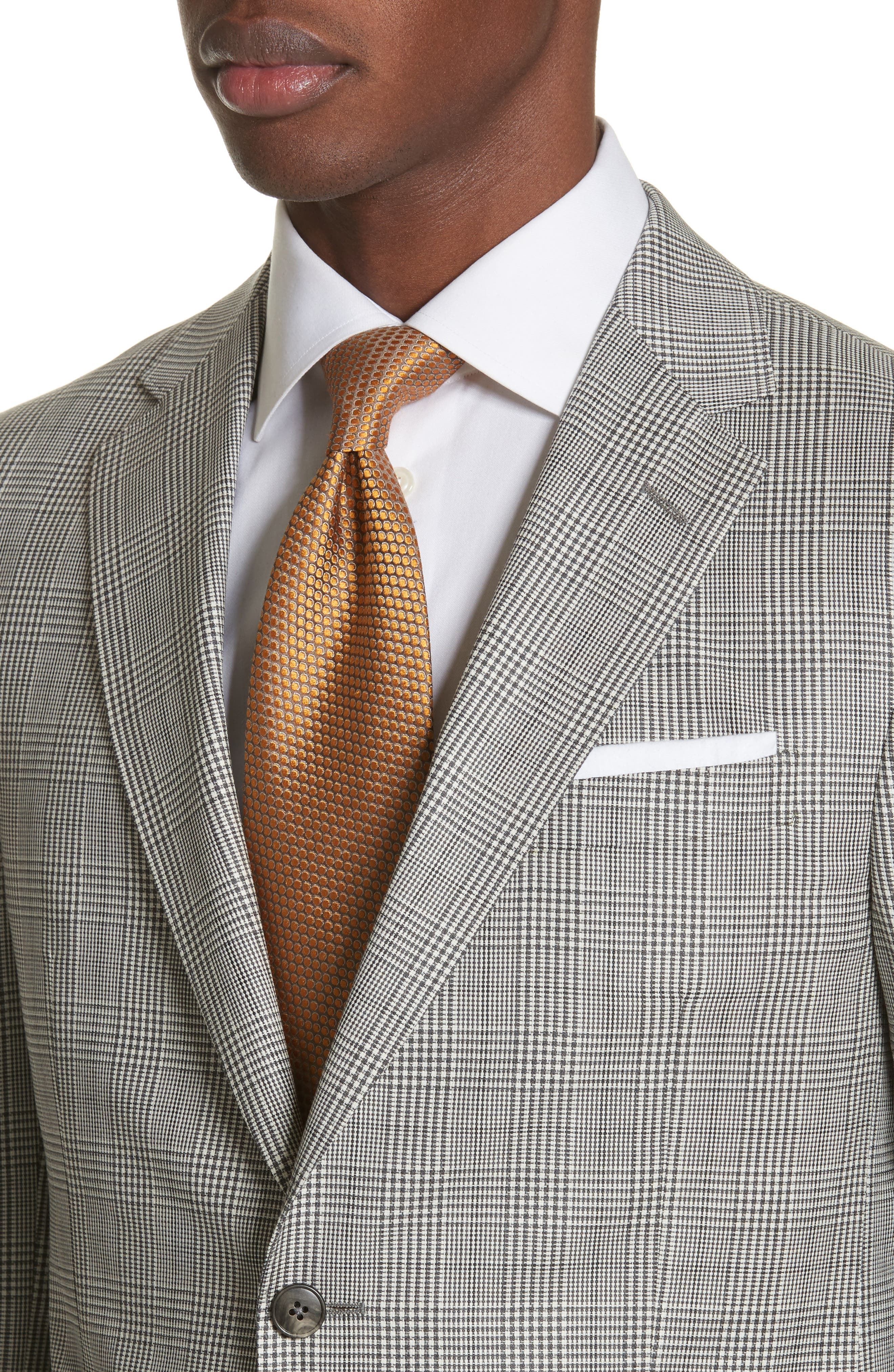 Alternate Image 4  - Z Zegna Classic Fit Plaid Wool Sport Coat