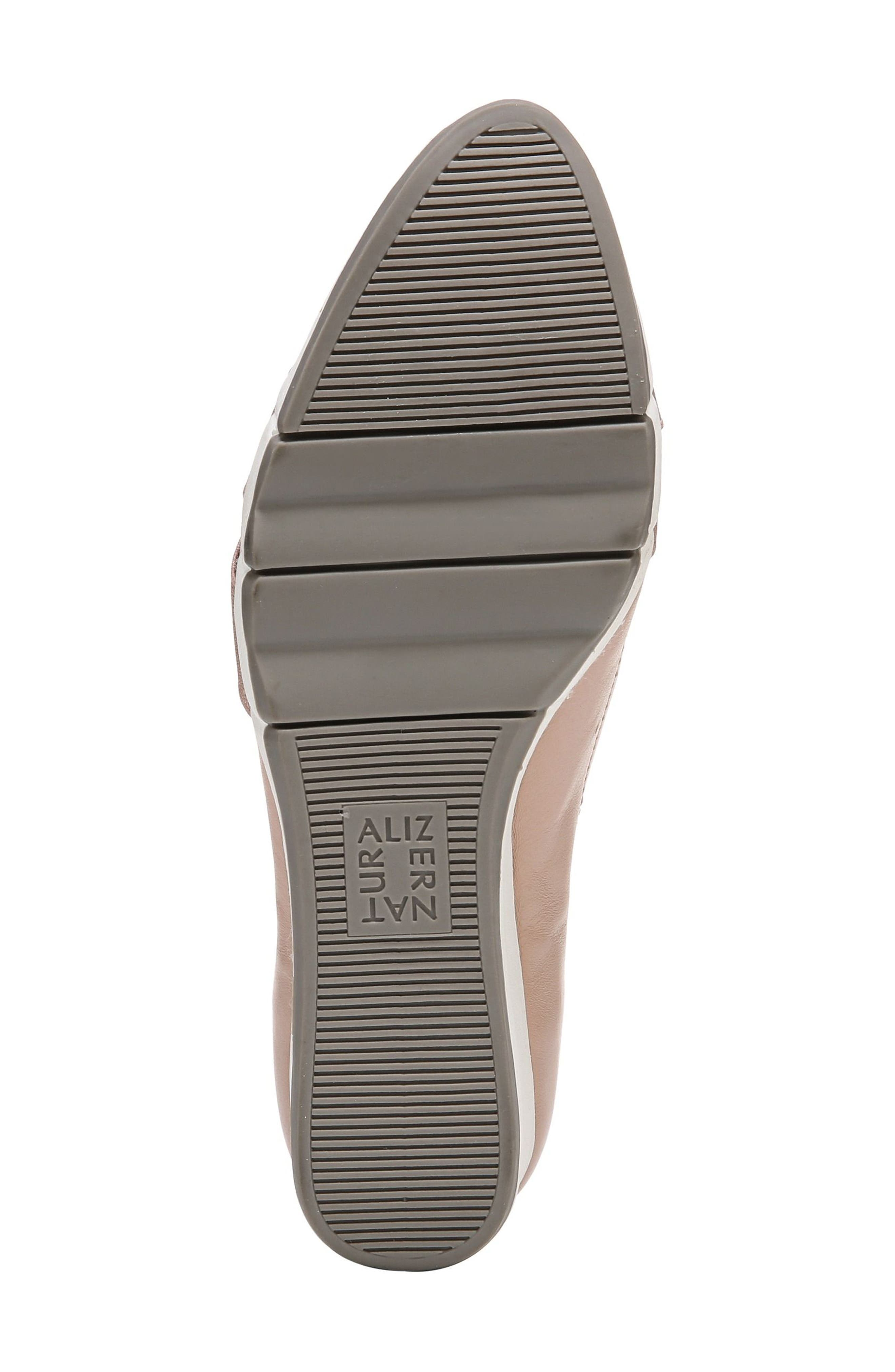 Harlyn Wedge Pump,                             Alternate thumbnail 8, color,                             Mauve Leather