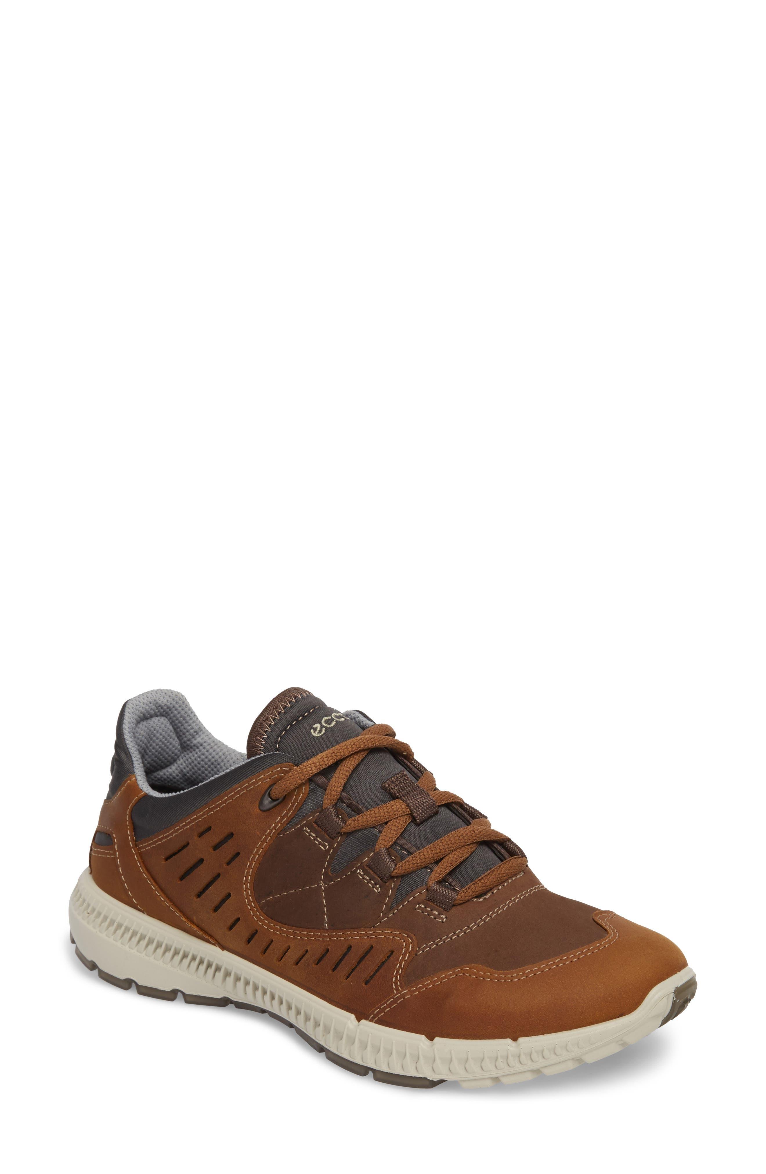 Terrawalk Sneaker,                         Main,                         color, Camel Leather